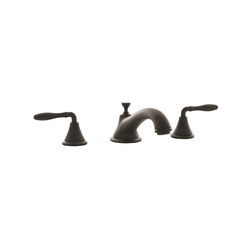GROHE 25055ZB0 Seabury™ Roman Bathtub Faucet, 12.6 gpm, StarLight® Oil Rubbed Bronze, Hand Shower Yes/No: No, Import