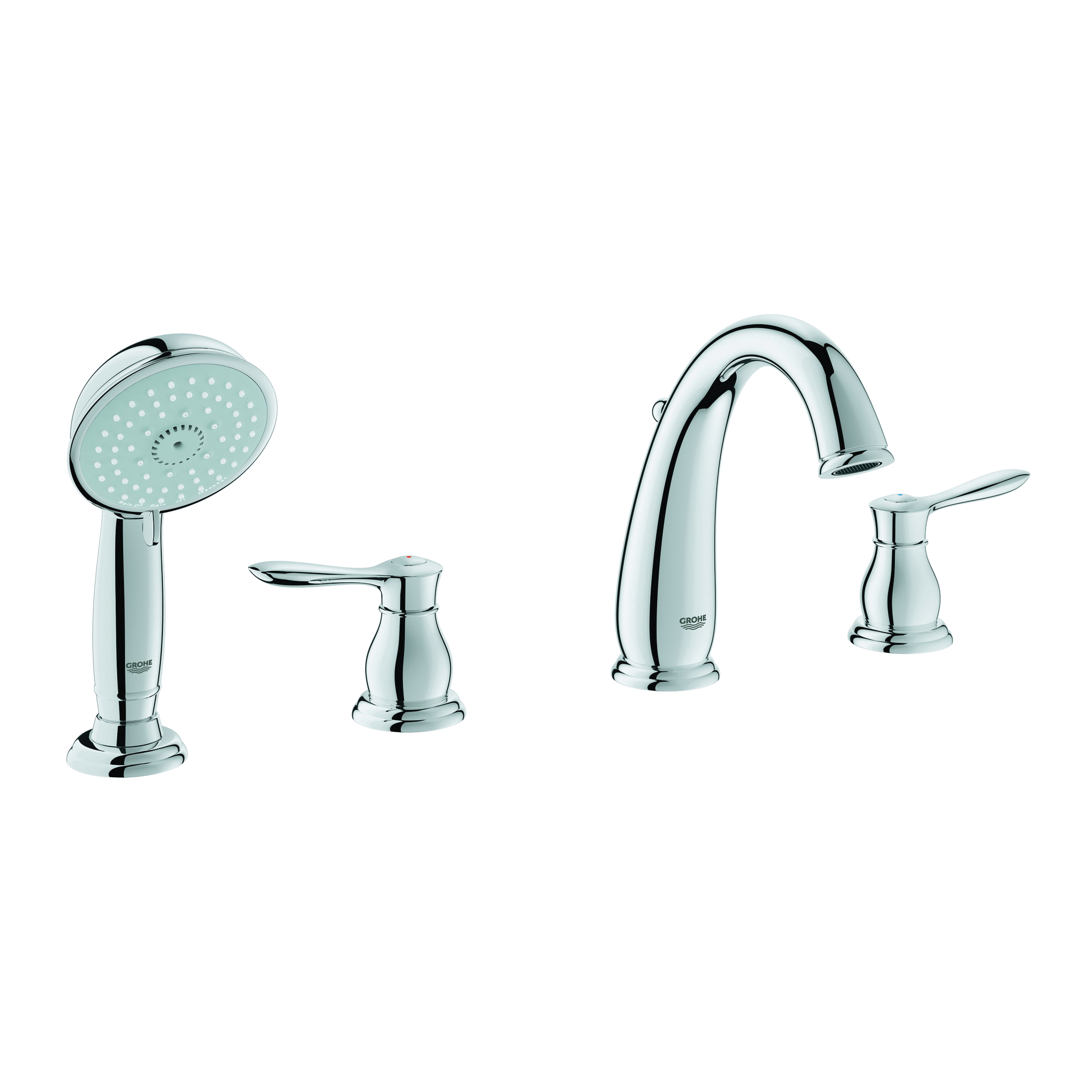 Consolidated Supply Co. | GROHE 25153000 Parkfield™ Roman Tub Filler ...