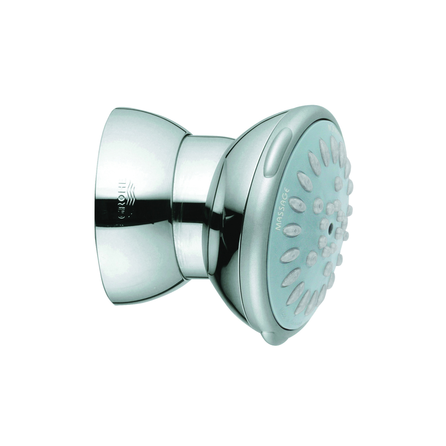 GROHE 27070000 Ondus® Relexa 65 Side Shower, (2) Normal/Massage Spray, 2.5 gpm Maximum, Round Head, Wall Mount, Import