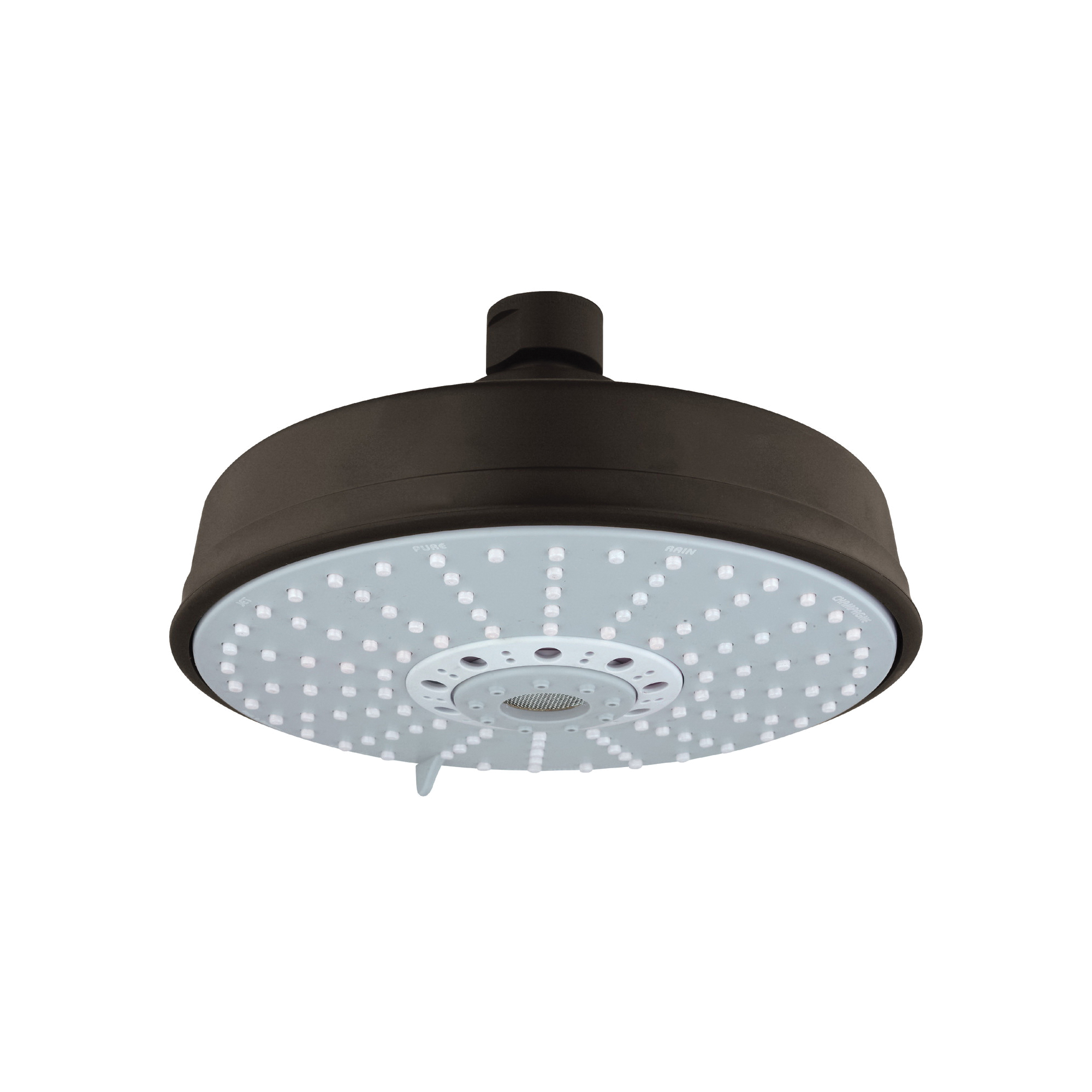 GROHE 27130ZB0 Rainshower® Rustic 160 Shower Head, 2.5 gpm, 4 Sprays, Ceiling Mount, 6-5/16 in Dia Head, Import