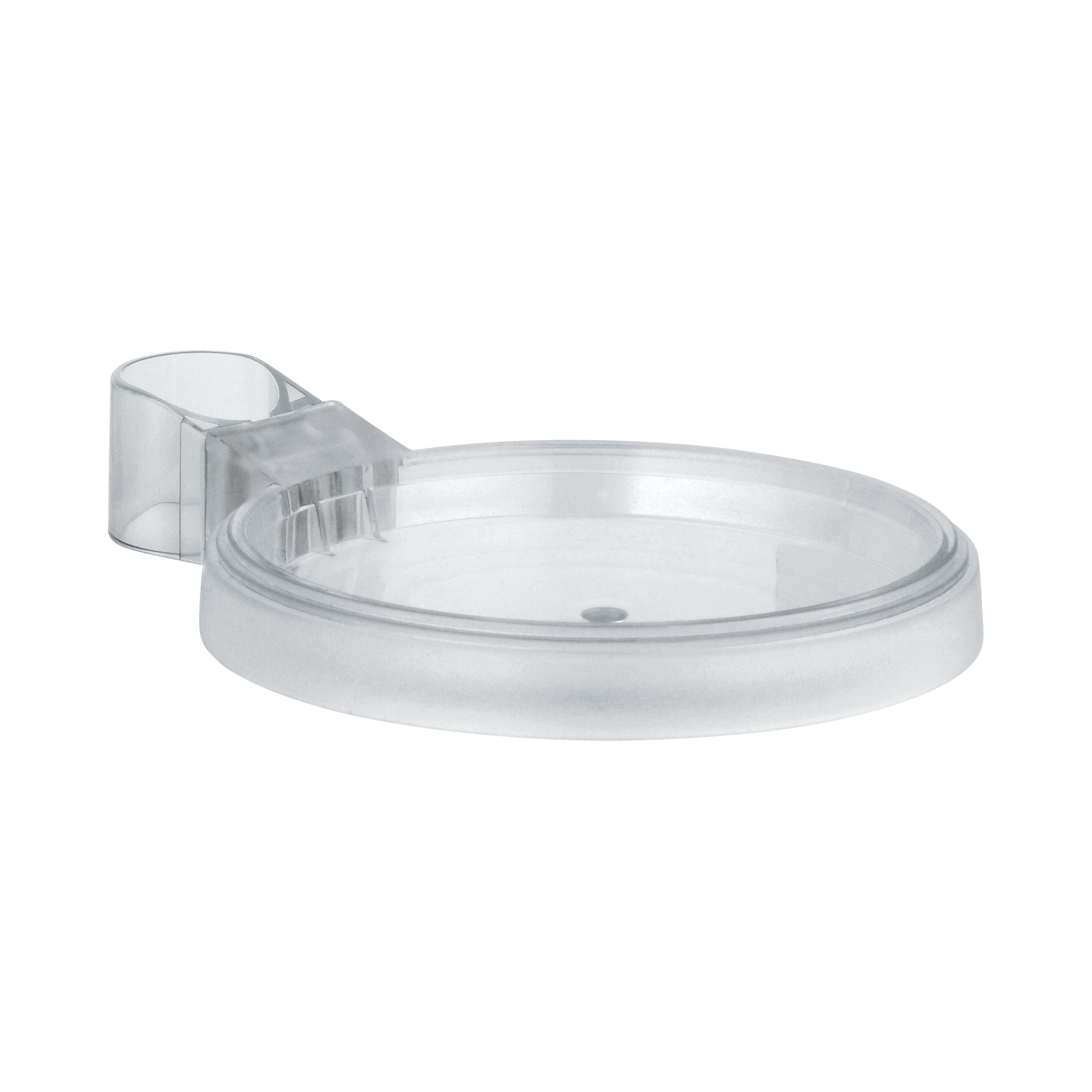GROHE 27206000 Soap Dish, 136 mm D, Plastic, Chrome Plated, Import