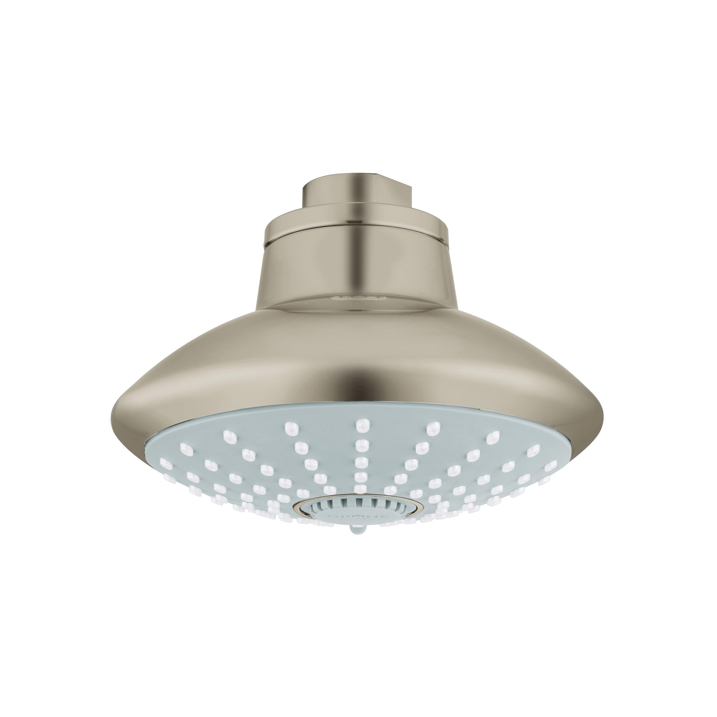GROHE 27247EN1 Euphoria 110 Shower Head, 2.5 gpm, 3 Sprays, Wall Mount, 4.62 in Head, Import