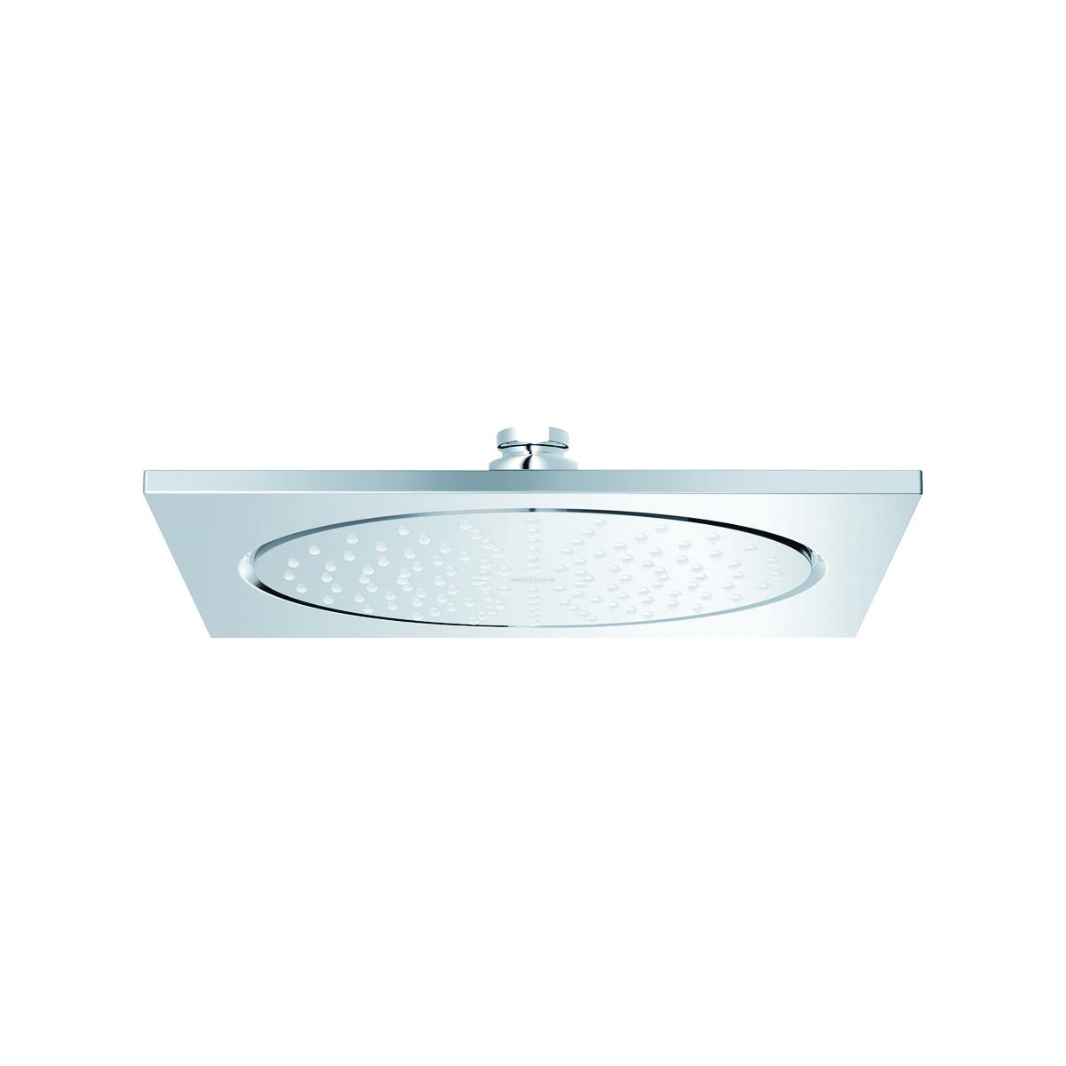 GROHE 27285000 Rainshower® Shower Head, 2.4 gpm, 1 Spray, Ceiling Mount, Import