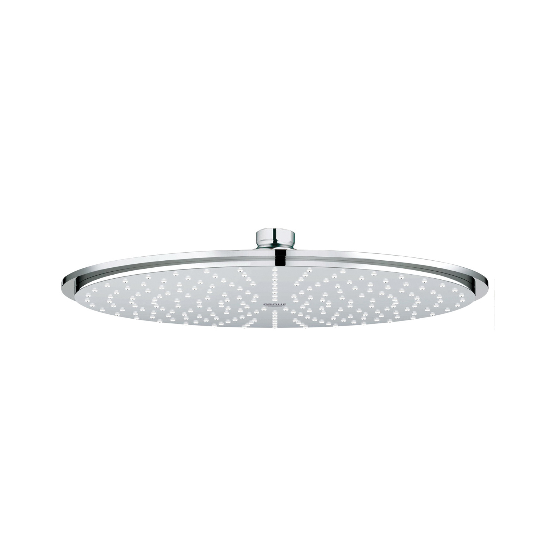 GROHE 27478000 Rainshower® Cosmopolitan 310 Shower Head, 2.5 gpm, 1 Spray, Ceiling Mount, 12-3/16 in Dia Head, Import