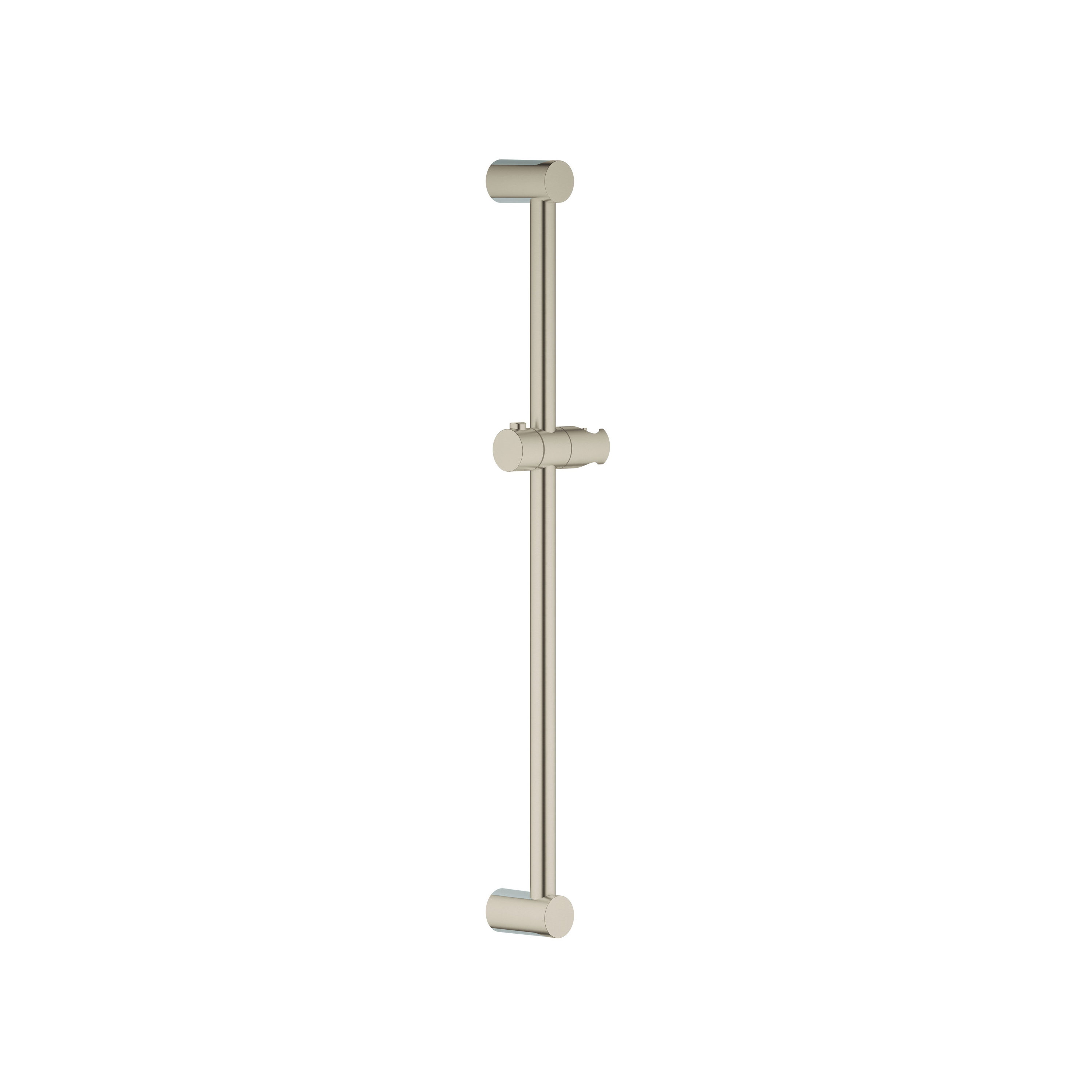 GROHE 27521EN0 New Tempesta® Cosmopolitan Shower Bar, 24 in L Bar, 2-3/4 in OAD, Brass, Brushed Nickel, Import