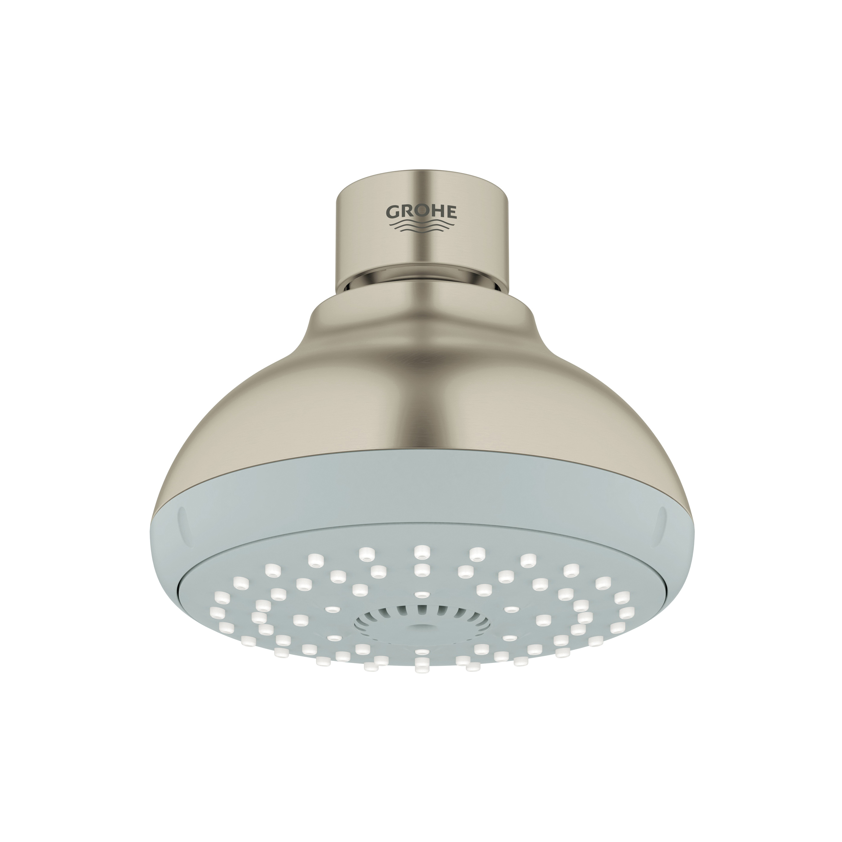 GROHE 27606EN0 New Tempesta® 100 Shower Head, 2.5 gpm, 4 Sprays, Wall Mount, 3.93 in Head, Import