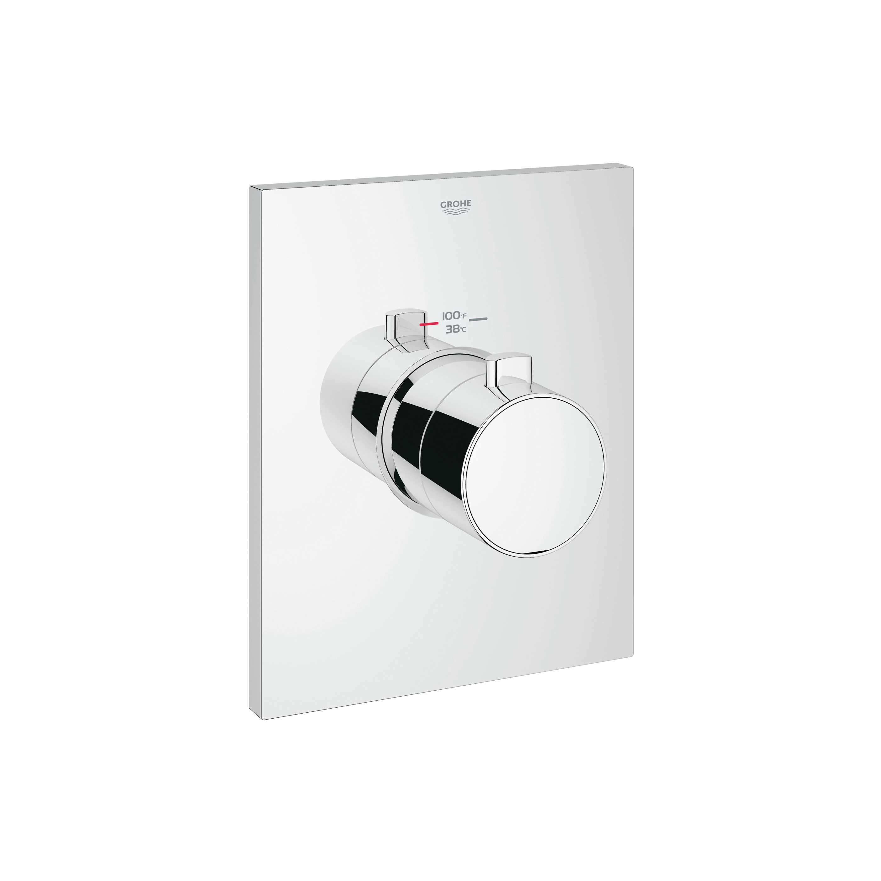 GROHE 27620000 Grohtherm F Trim, Hand Shower Yes/No: No, StarLight® Chrome Plated