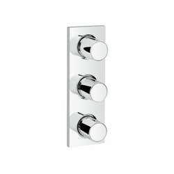 GROHE 27625000 Grohtherm F Triple Volume Control Trim, Chrome Plated