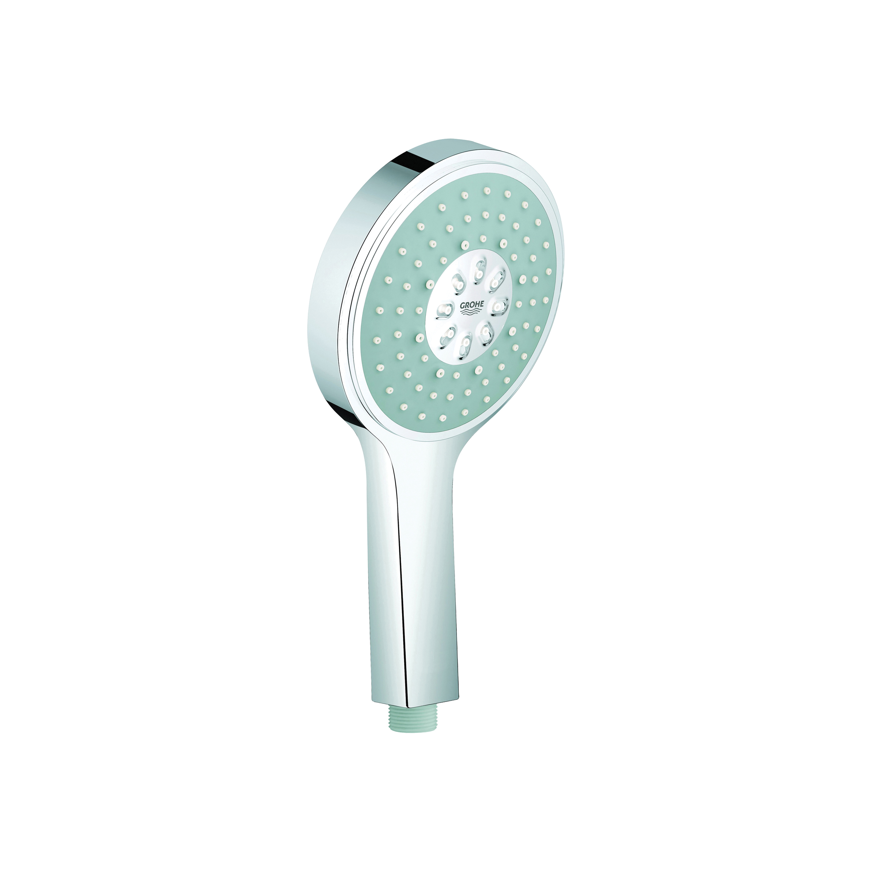 GROHE 27664000 Power&Soul® Cosmopolitan 130 Hand Shower, 2.5 gpm, 4 Sprays, 130 mm Dia Head, 1/2 in, Import