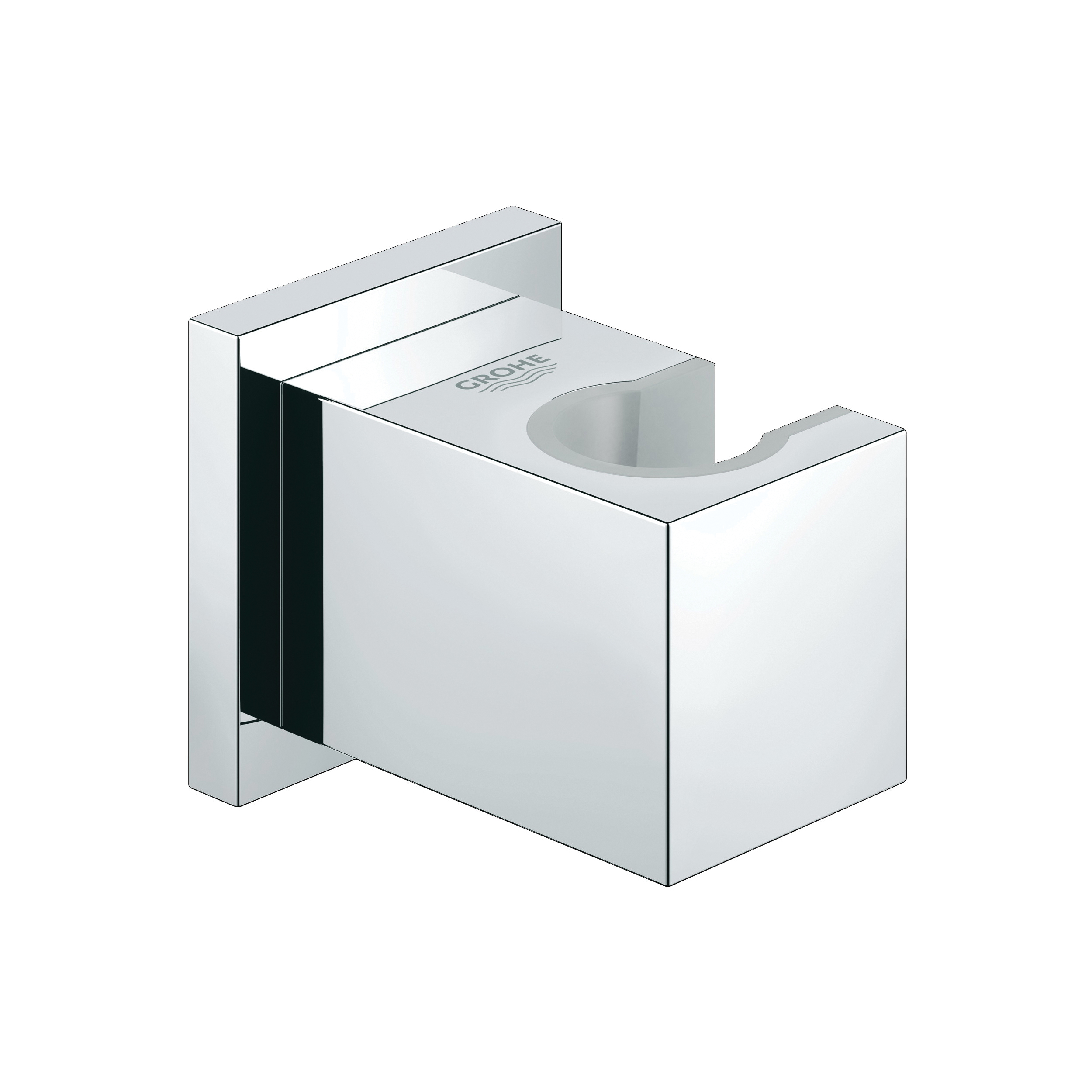 GROHE 27693000 Euphoria Cube Hand Shower Holder, Wall Mount, Import