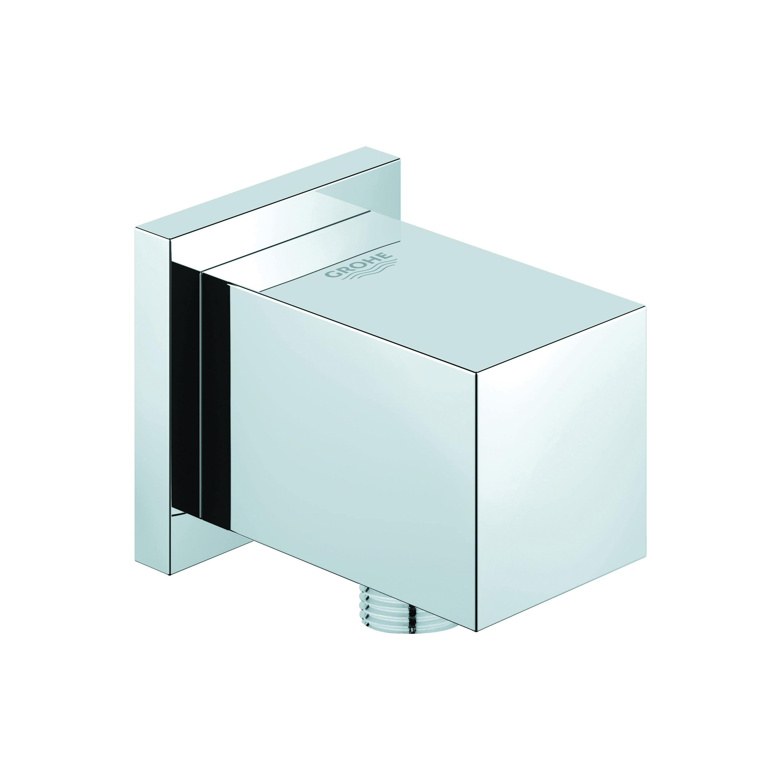 GROHE 27708000 Allure Brilliant Shower Outlet Elbow, 1/2 in, MNPT, Brass, Import