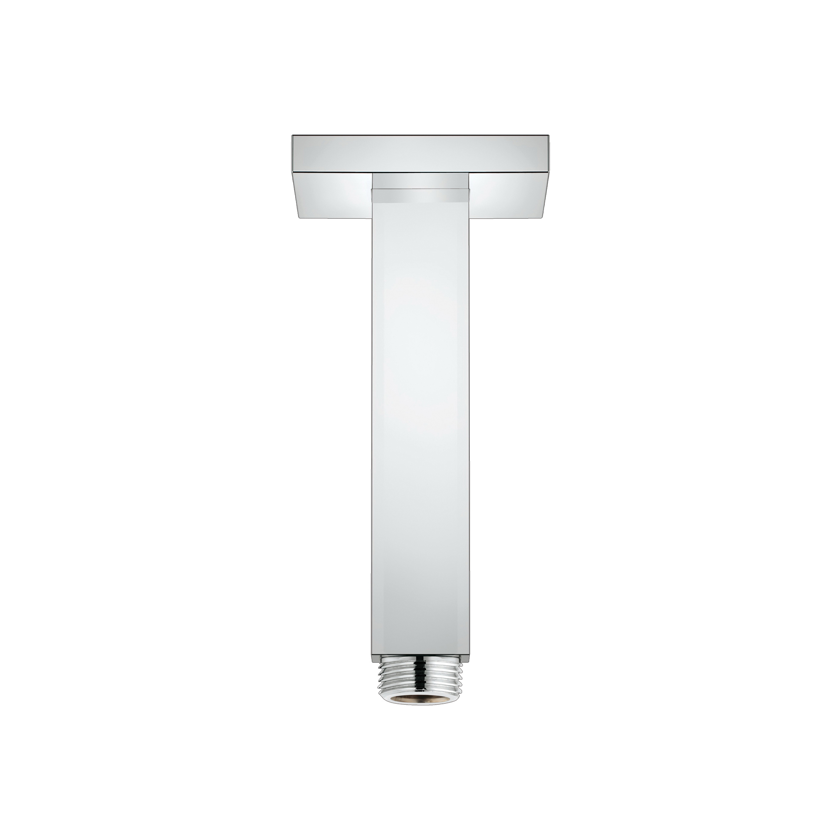 GROHE 27712000 Rainshower® Shower Arm, 6-1/16 in L, 1/2 in NPT, Import