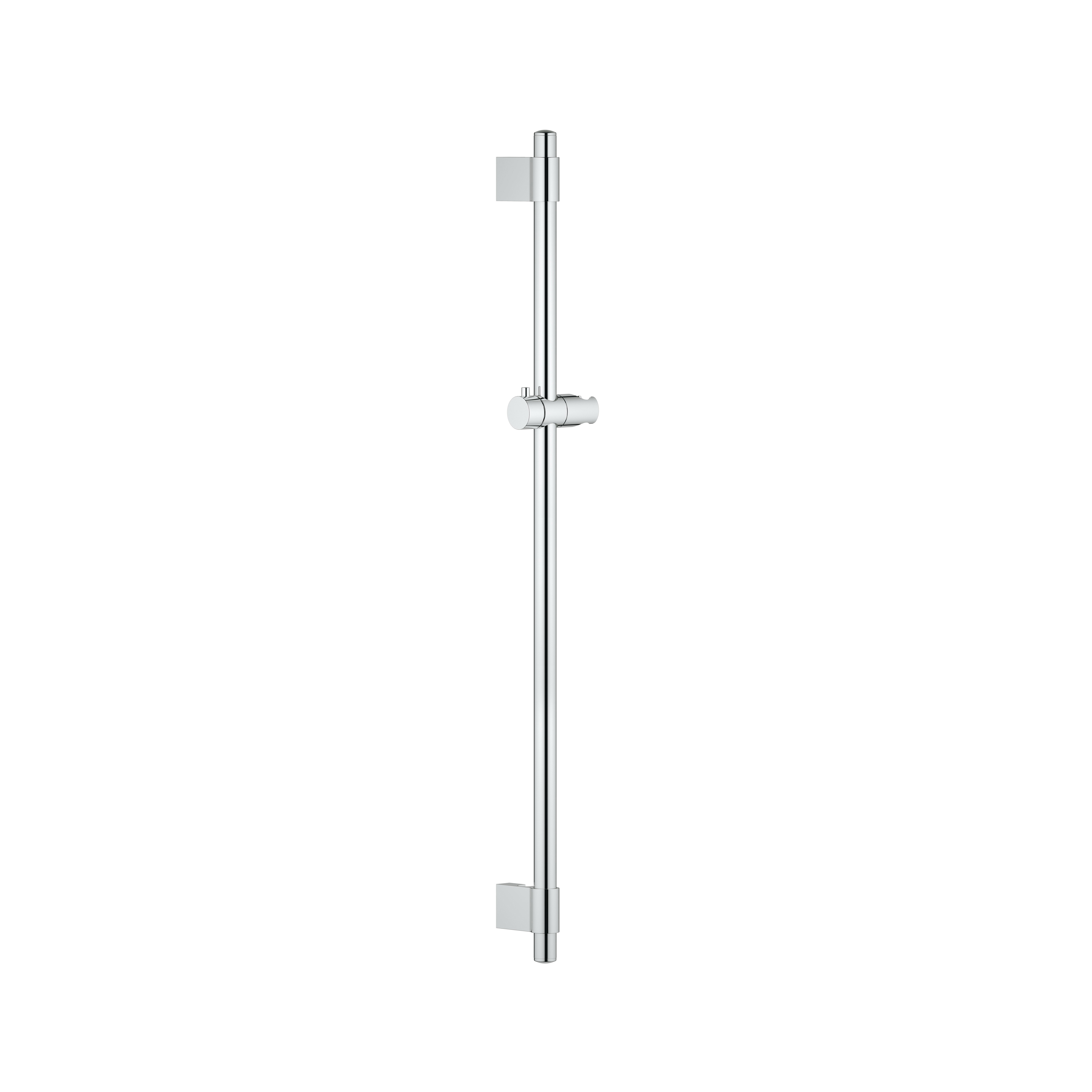 GROHE 27785000 Power&Soul® Shower Bar With Wall Holder, 36 in L Bar, 80 mm OAD, StarLight® Chrome, Import