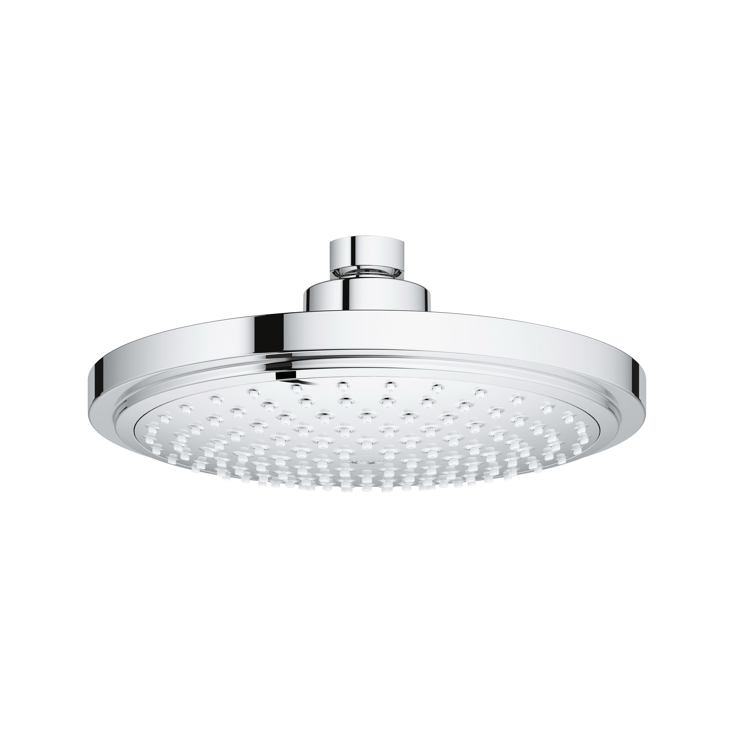GROHE 27808000 Euphoria Cosmopolitan 180 Shower Head, 2 gpm, 1 Spray, Wall Mount, 7.06 in Head, Import