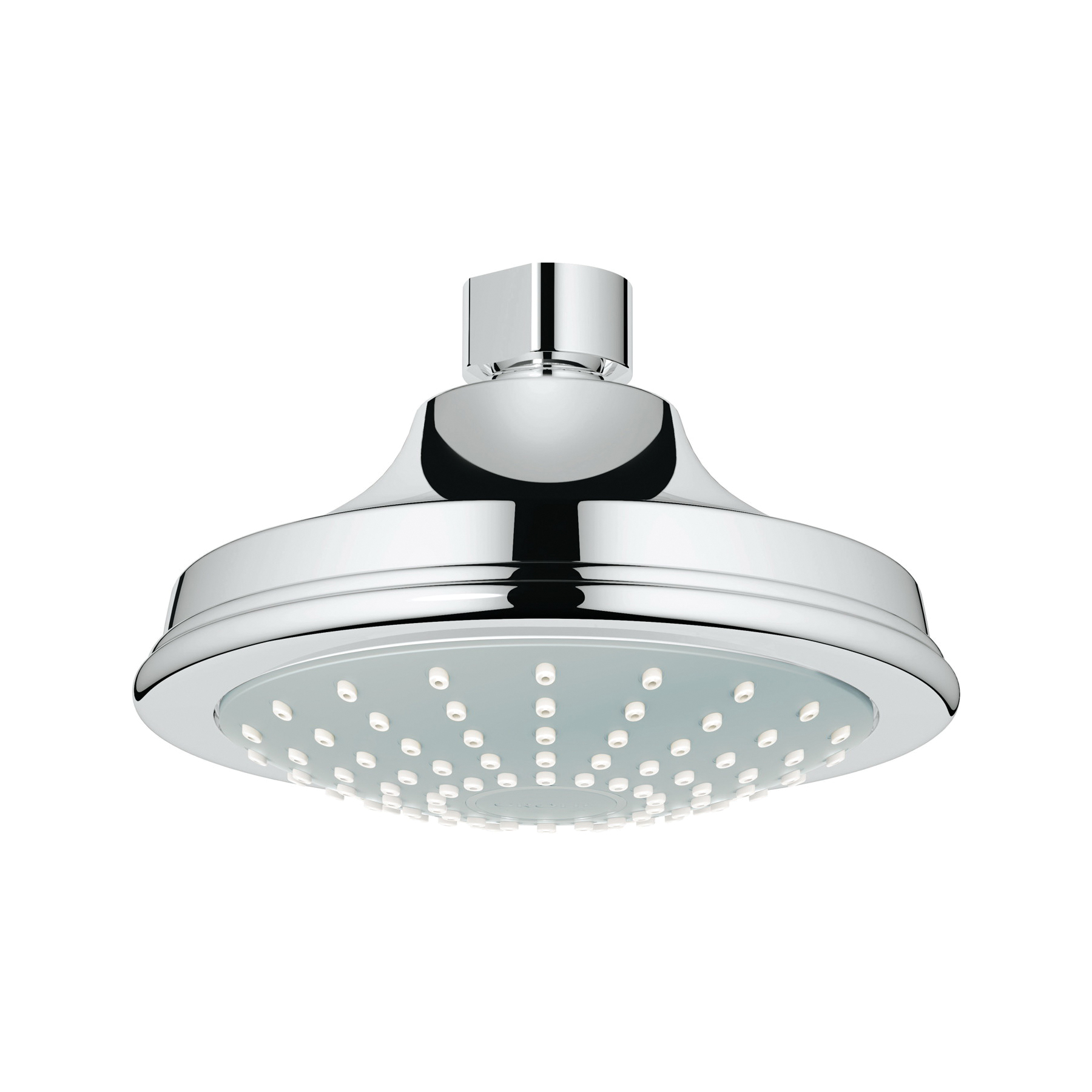 GROHE 27811000 Euphoria Rustic 130 Shower Head, 2 gpm, 1 Spray, Wall Mount, 5.06 in Head, Import