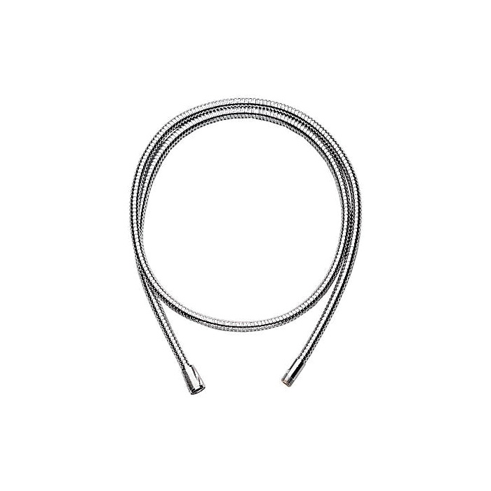 GROHE 28158000 Shower Hose, 1/2 x 3/8 in, 79 in L, Metal, Import