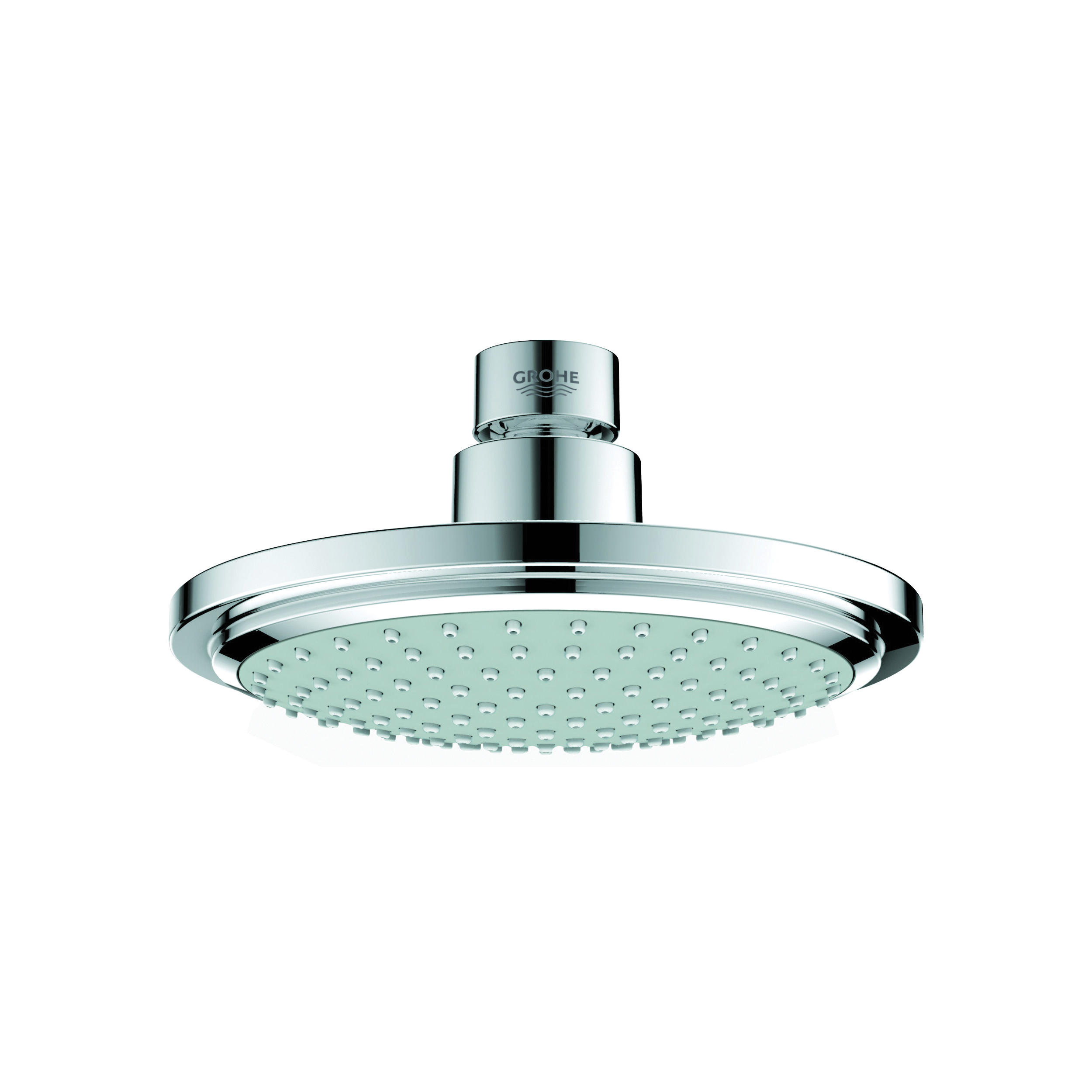 GROHE 28233000 Euphoria Cosmopolitan 160 Shower Head, 2.4 gpm, 1 Spray, Wall Mount, 6-5/16 in Dia Head, Import