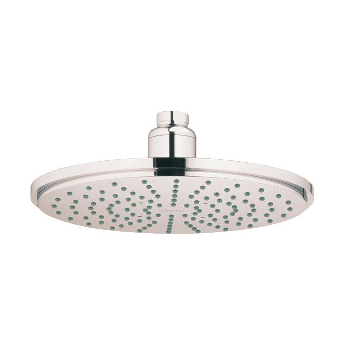 GROHE 28373BE0 Rainshower® Cosmopolitan 210 Shower Head, 2.5 gpm, 1 Spray, Ceiling Mount, 8-1/4 in Head, Import