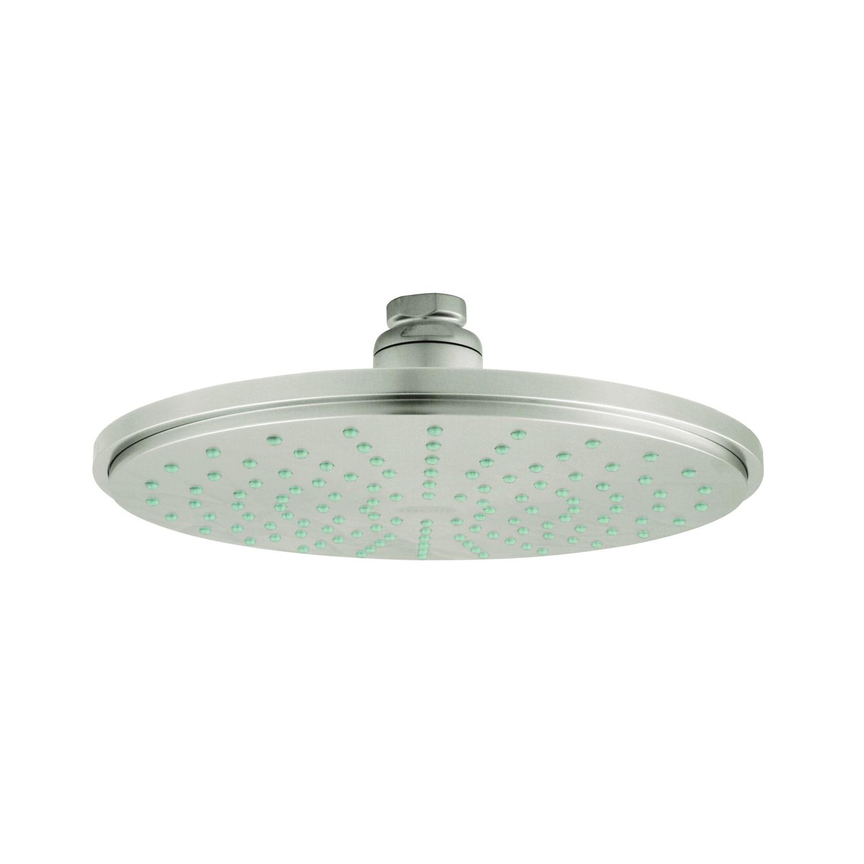 GROHE 28373EN0 Rainshower® Cosmopolitan 210 Shower Head, 2.5 gpm, 1 Spray, Ceiling Mount, 8-1/4 in Dia Head, Import