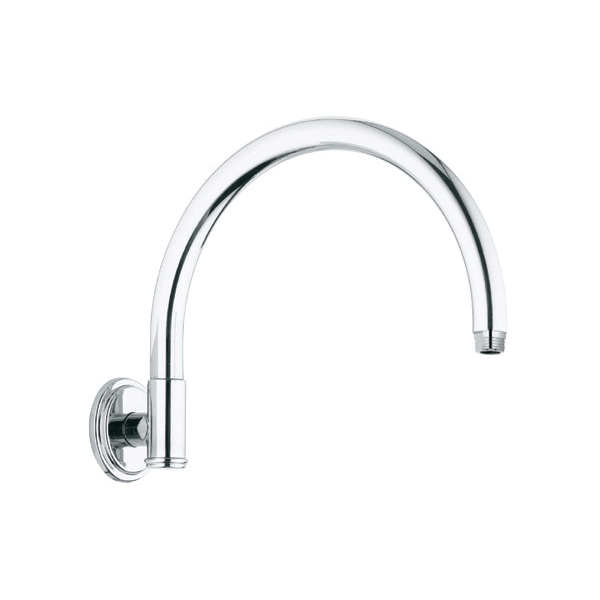 GROHE 28383000 Rainshower® Rustic Retro Shower Arm, 10-3/4 in L, 1/2 in NPT, Import