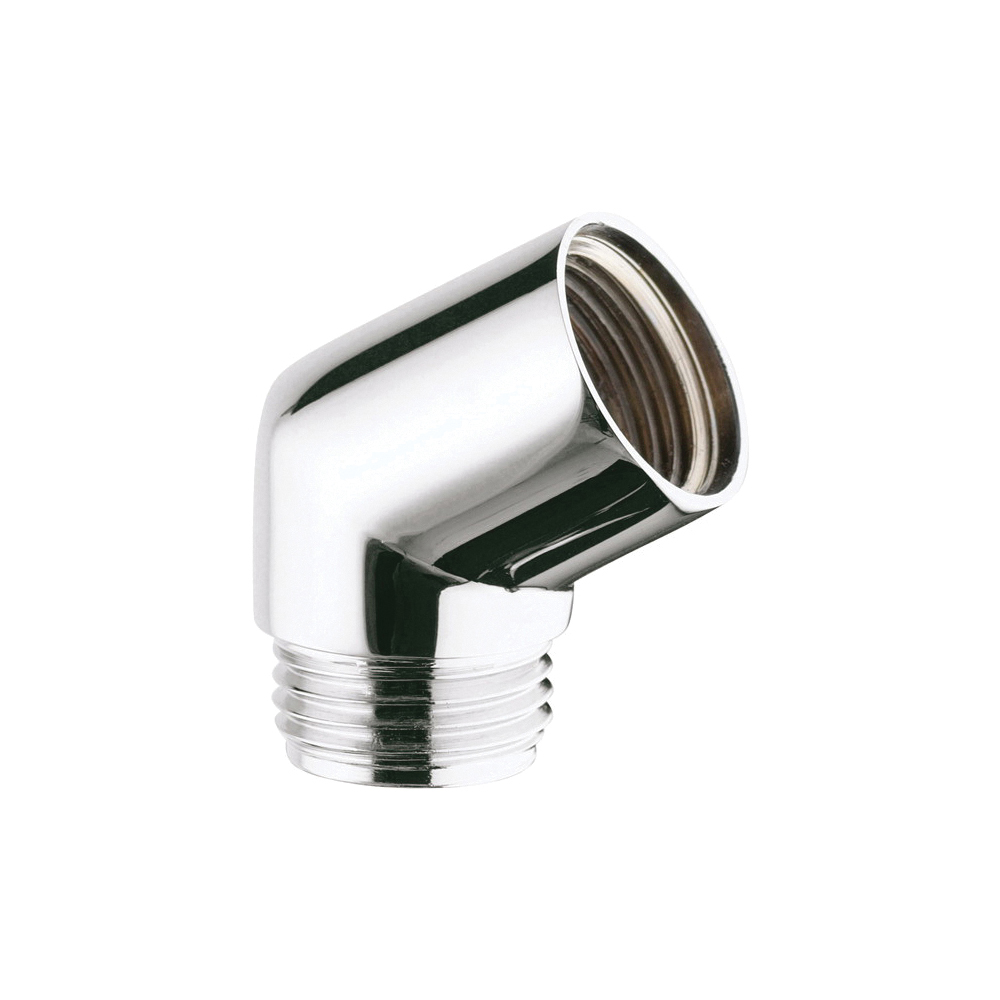 GROHE 28389000 Sena Adapter, 1/2 in, Metal, Import