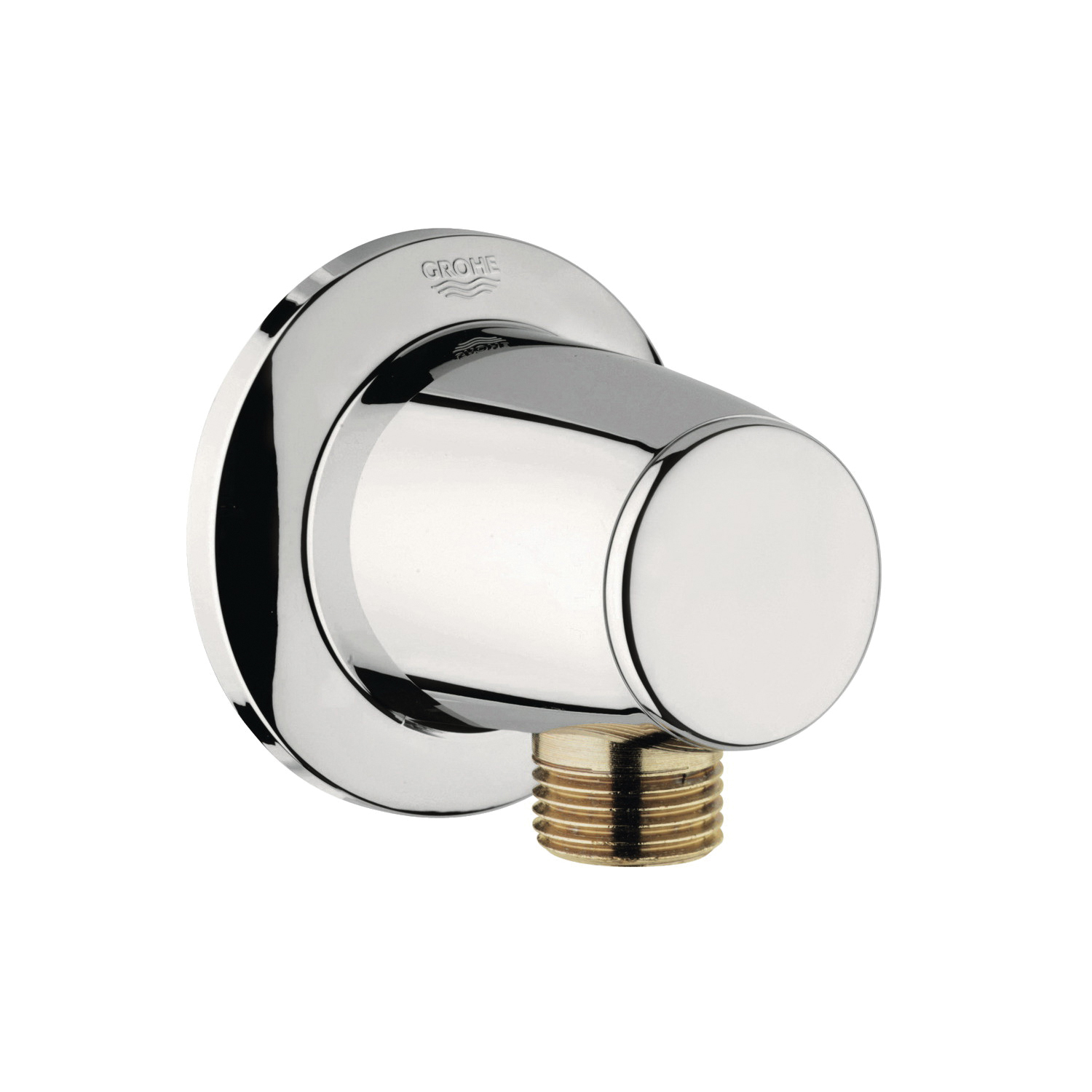 GROHE 28459BE0 Movario Shower Outlet Elbow, 1/2 in, FNPT, Brass, Import