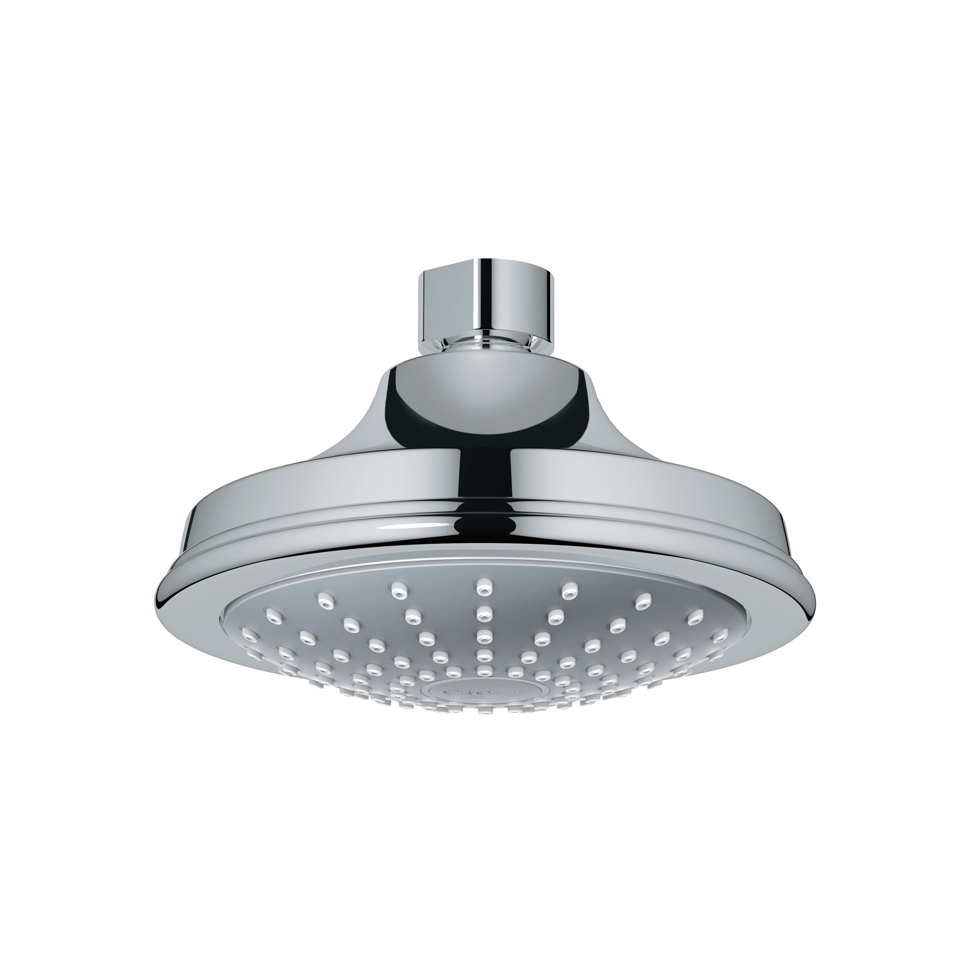 GROHE 28737000 Euphoria Rustic 130 Shower Head, 2.4 gpm, 1 Spray, Wall Mount, 5-1/16 in Dia Head, Import