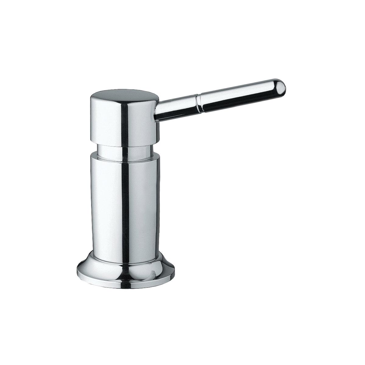 GROHE 28751001 DELUXE XL Soap Dispenser, 15 oz, Deck Mount, Brass, StarLight® Chrome