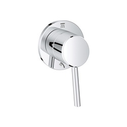 GROHE 29108001 Concetto 2-Way Diverter Trim, StarLight® Chrome Plated