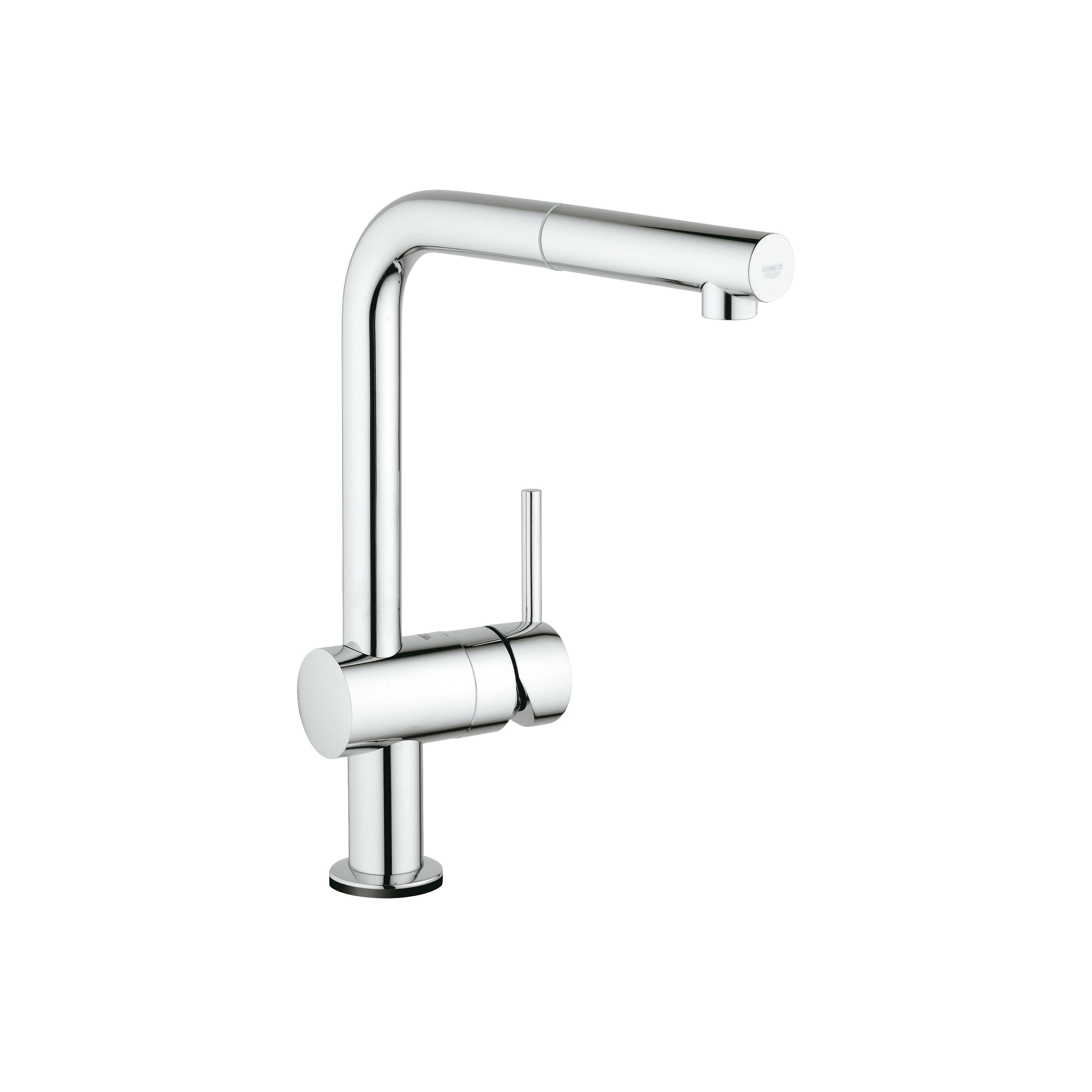 GROHE 30218001 Minta Kitchen Faucet With Touch Technology, 1.75 gpm, 1 Faucet Hole, StarLight® Chrome, 1 Handle, Import, Residential