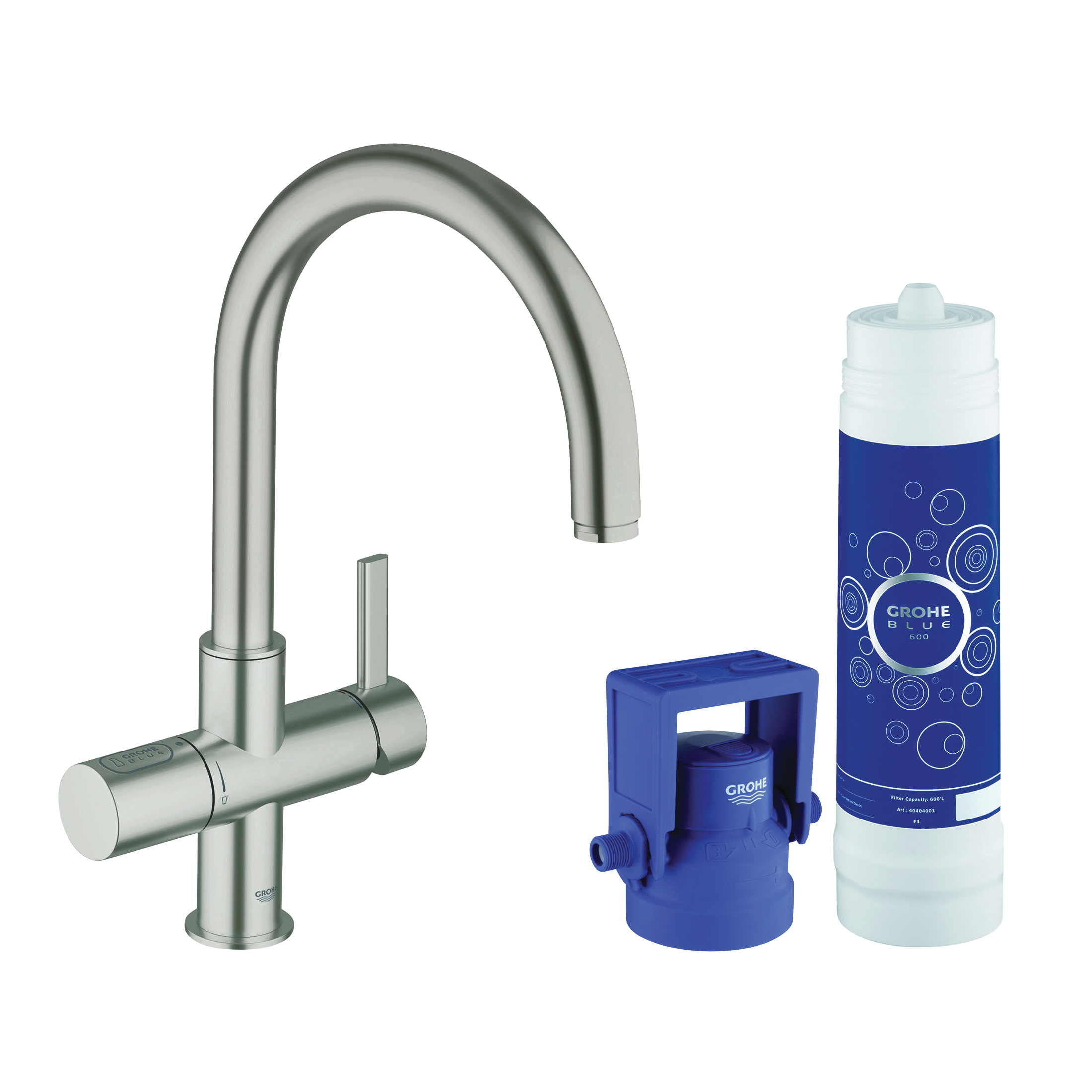 Consolidated Supply Co. | GROHE 31312DC1 GROHE Blue Pure Faucet and ...