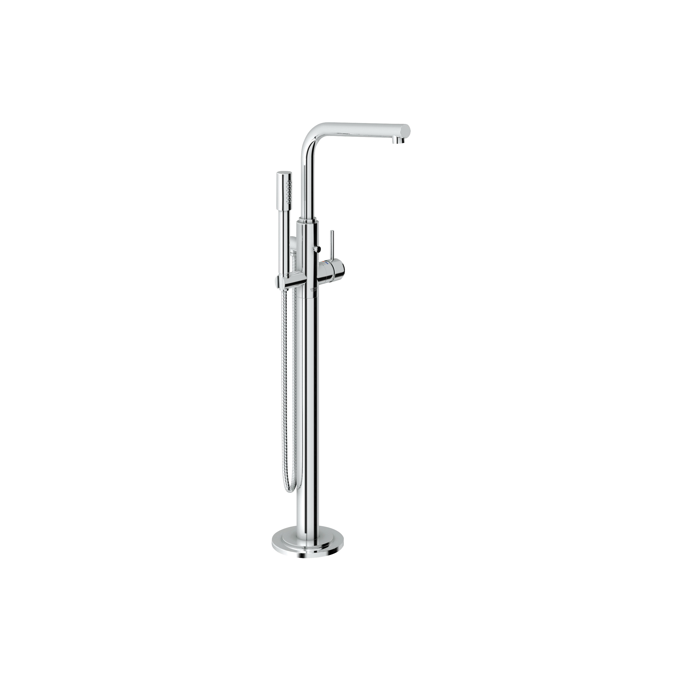 GROHE 32135002 Atrio® Tub Filler, 2.5 gpm, StarLight® Chrome Plated, 1 Handles, Hand Shower Yes/No: Yes, Import