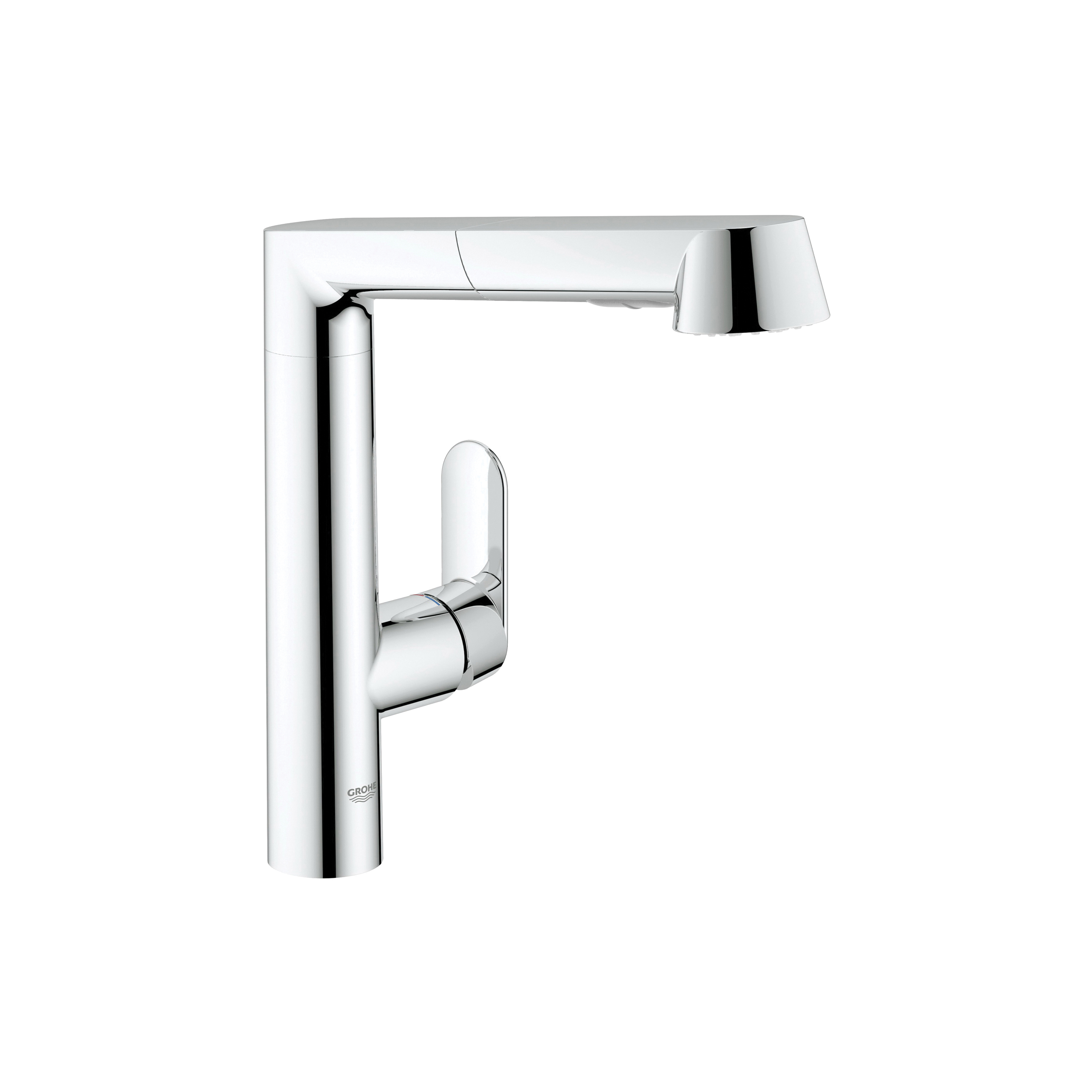 GROHE 32178000 K7 Sink Mixer, 1.75 gpm, 1 Handle, Chrome Plated, Import