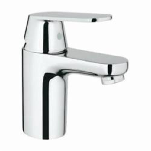 GROHE 32877000 Eurosmart® Cosmopolitan Small Lavatory Faucet, 1.5 gpm, 3 in H Spout, 1 Handle, 1 Faucet Hole, StarLight® Chrome, Import