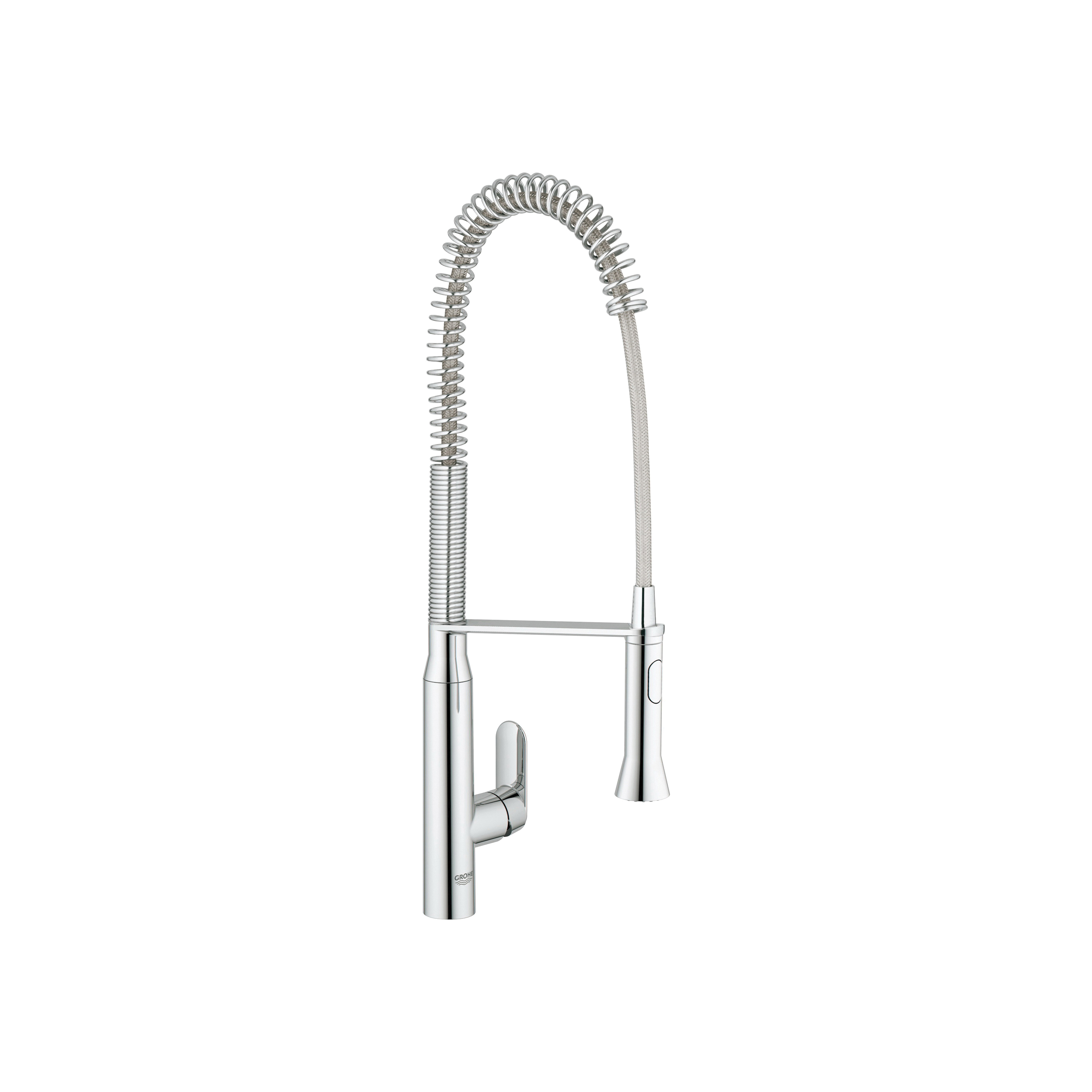 GROHE 32951000 K7 Sink Mixer, 1.75 gpm, 1 Handle, Chrome Plated, Import