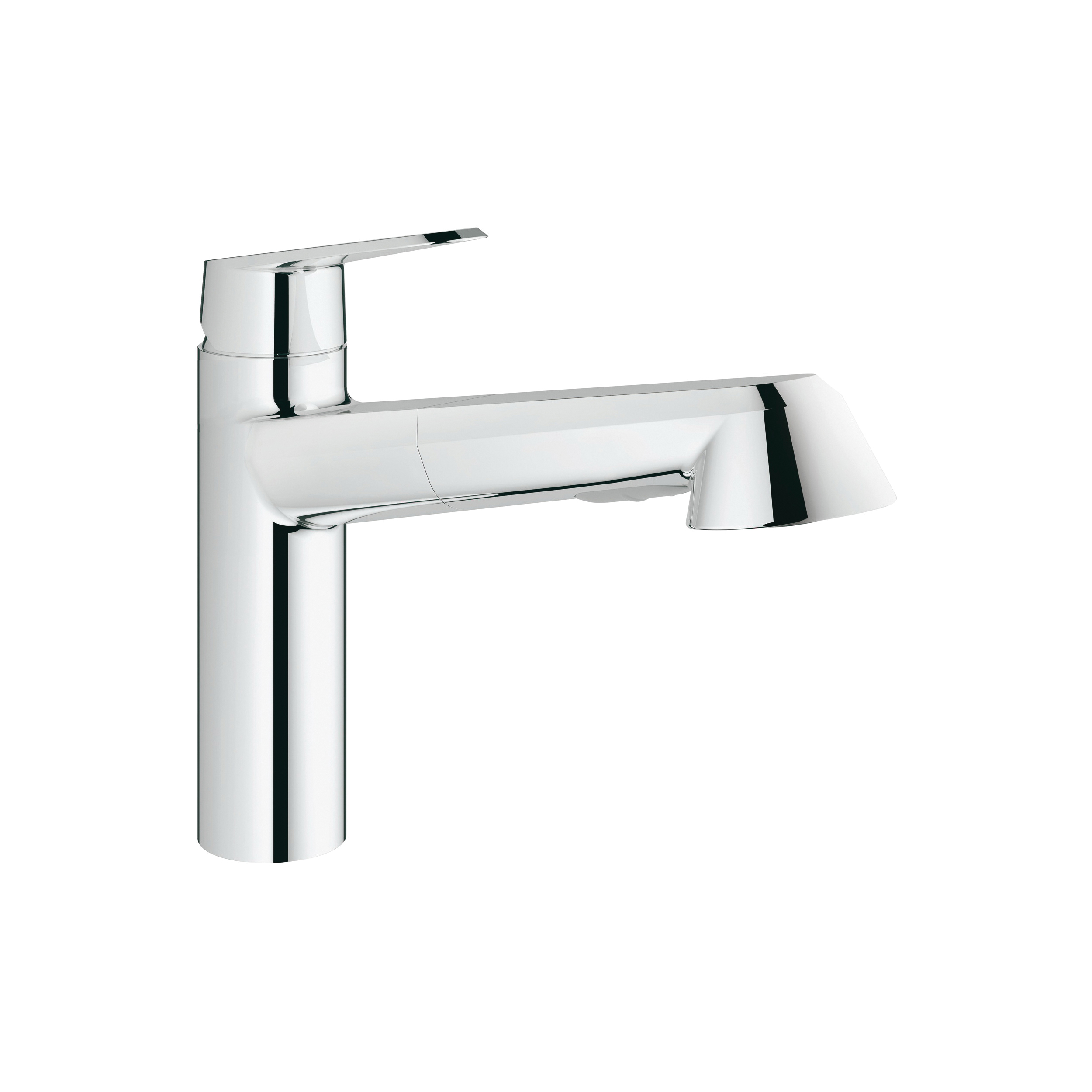GROHE 33330002 Eurodisc® Cosmopolitan Sink Mixer, 1.75 gpm, 1 Faucet Hole, Chrome Plated, 1 Handle, Import