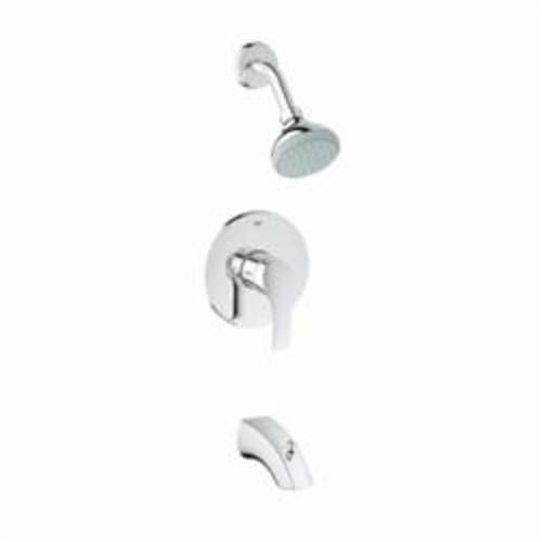 GROHE 35012002 Eurosmart® Valve and Bath Combination, 1.75 gpm Shower, Hand Shower Yes/No: Yes, Chrome Plated