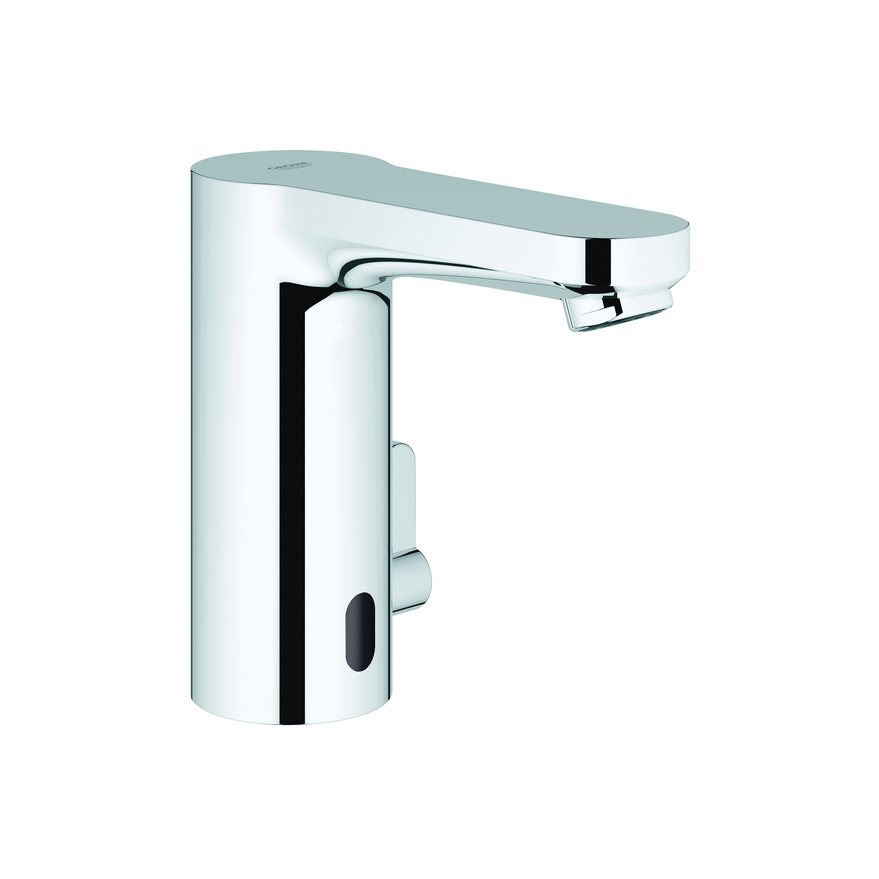 GROHE 36328000 Eurosmart Cosmopolitan Touch Free Electronic Faucet With Temperature Control Lever, 0.35 gpm, Chrome Plated, Lithium Battery, Import