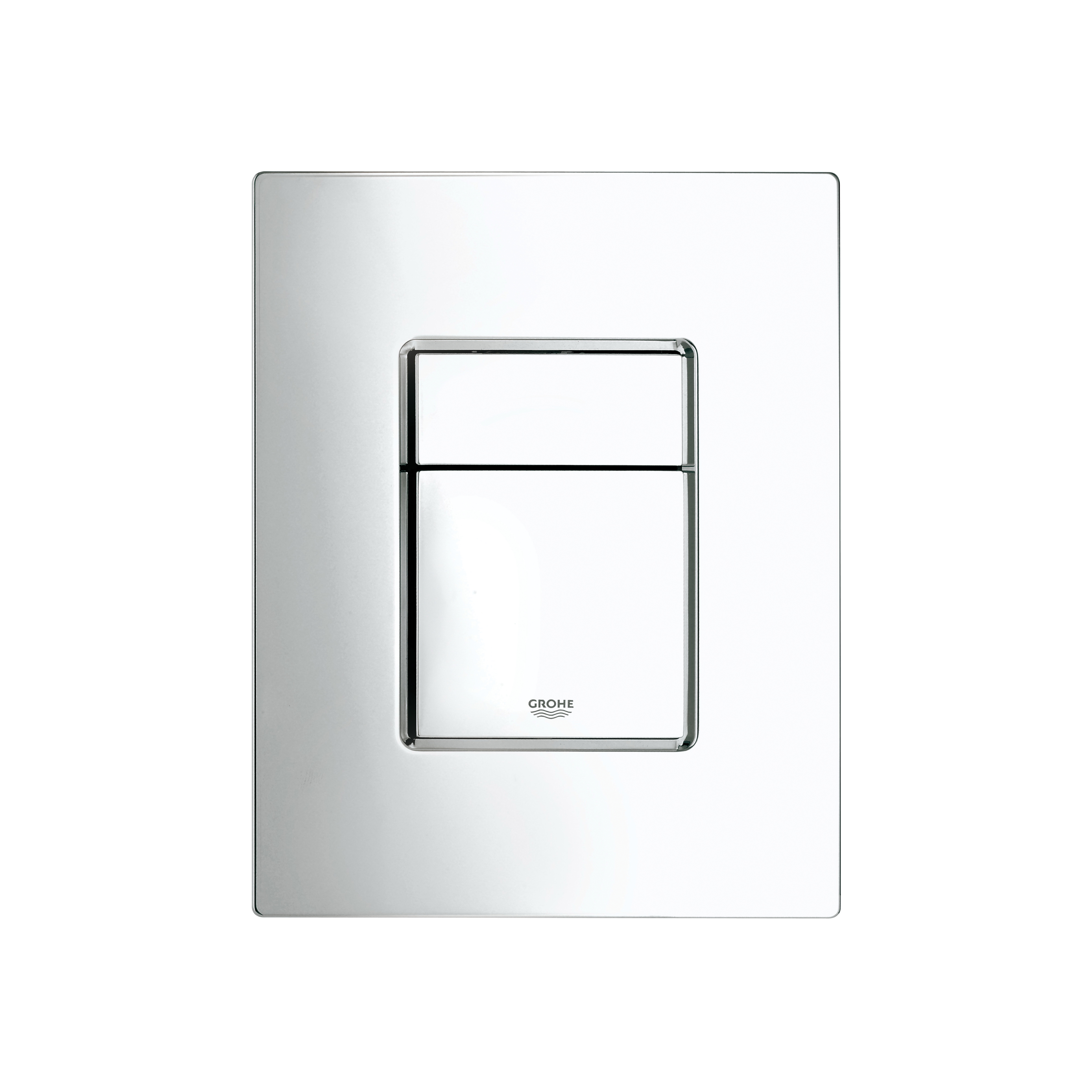 GROHE 38732000 Skate Cosmopolitan Wall Plate, ABS, Chrome Plated, Import