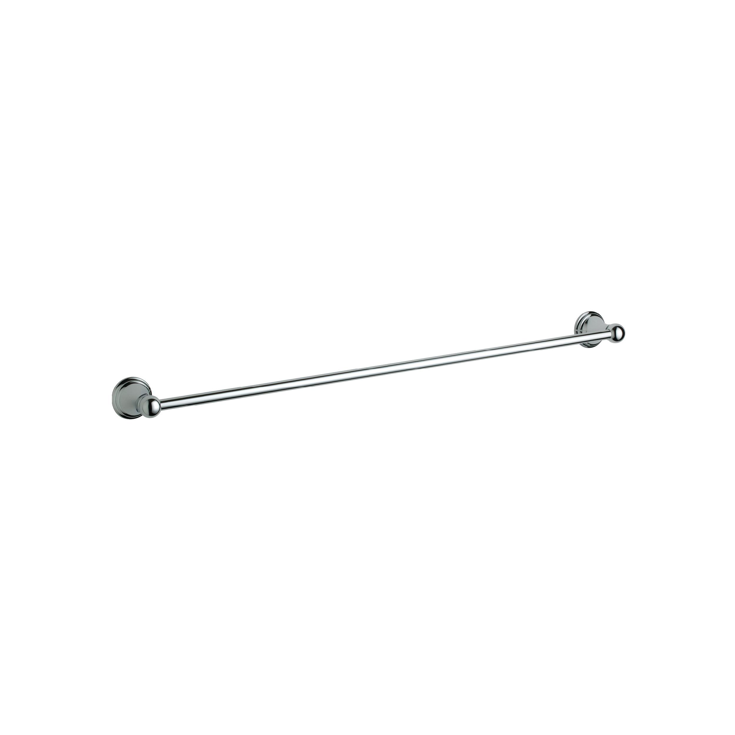 GROHE 40146000 Geneva™ Towel Rail, 24 in L Bar, 2-11/16 in OAD, Metal, Import