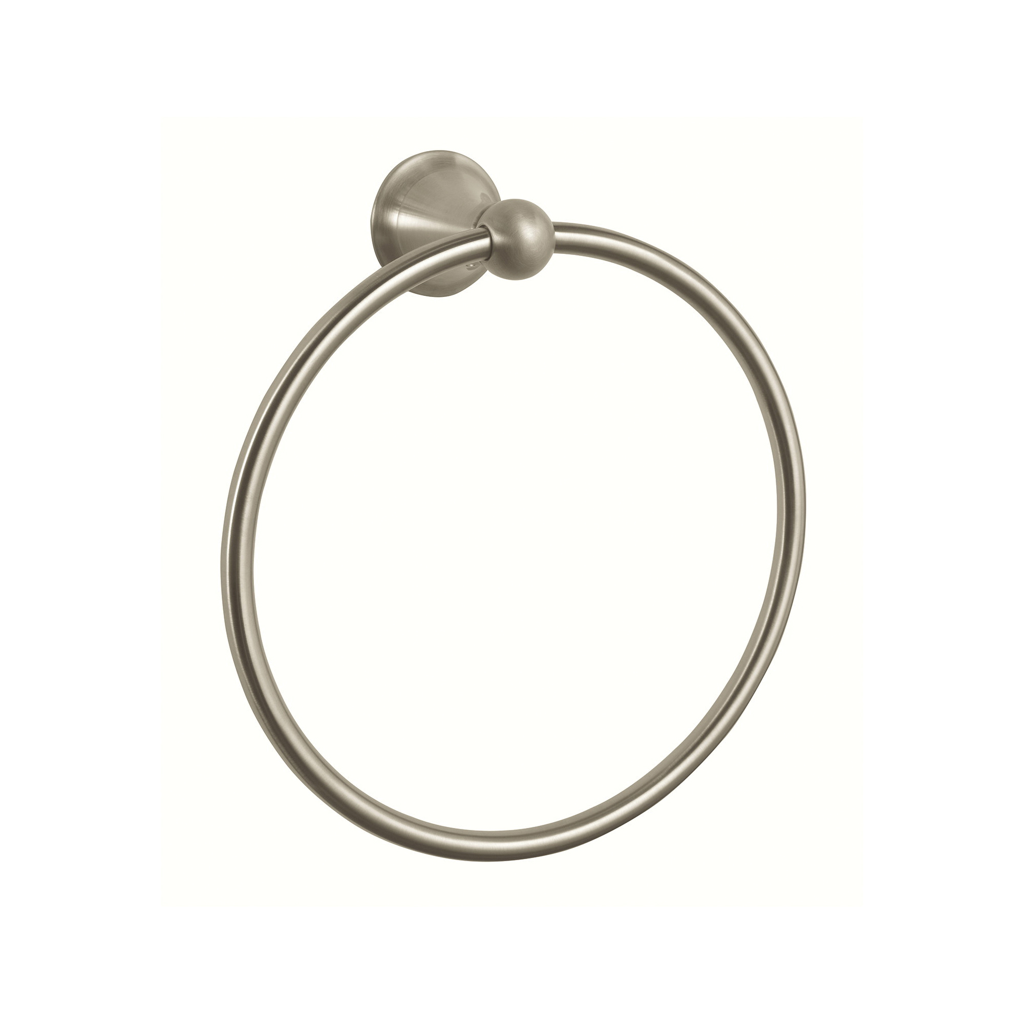 GROHE 40158EN0 Seabury Towel Ring, 7-7/8 in Dia Ring, 2-11/16 in OAD, Metal, Import