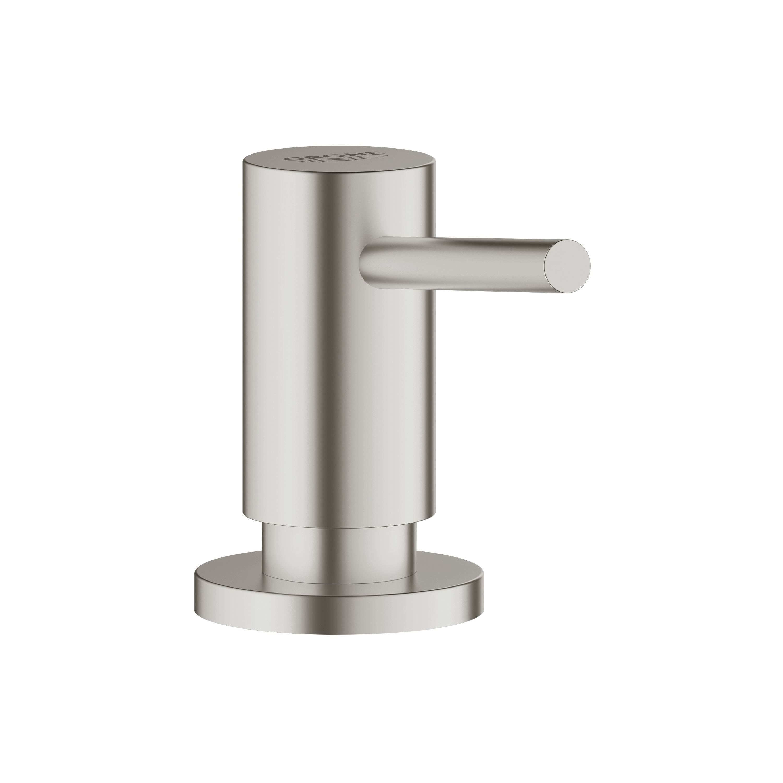 GROHE 40535DC0 Cosmopolitan Liquid Soap Dispenser, StarLight® SuperSteel, 15 oz, Import