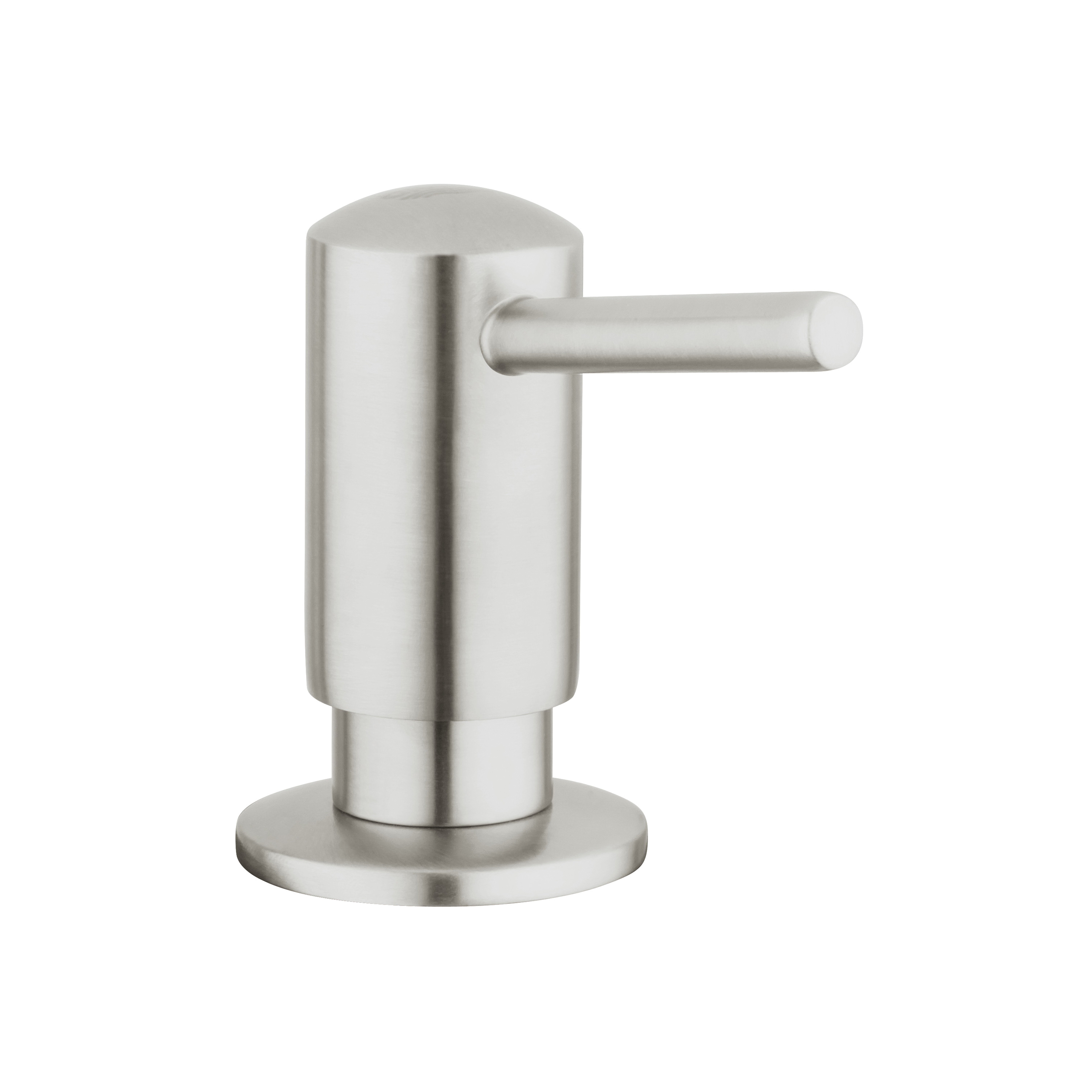 GROHE 40536DC0 Contemporary Soap Dispenser, 15 oz, Deck Mount, Brass, SuperSteel