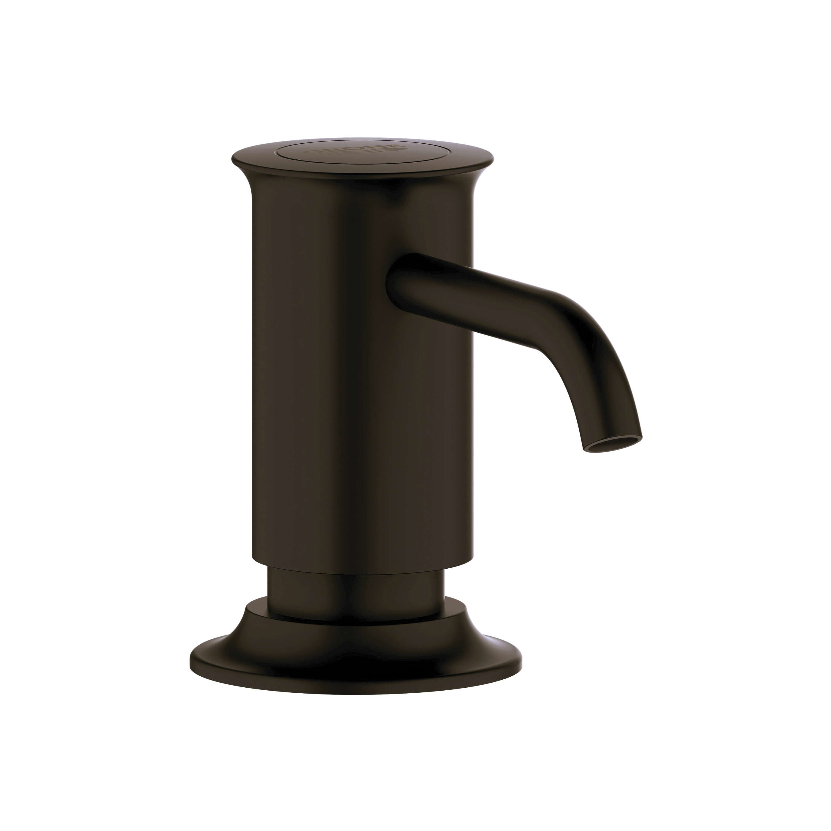 GROHE 40537ZB0 Authentic Soap Dispenser, 15 oz, Deck Mount, Brass, Antique Bronze