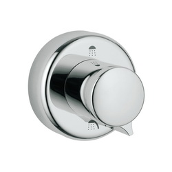 GROHE 45433000 Escutcheon, For Use With: Tub Filler Faucets and 19903 Three-Port Diverter Trim, StarLight® Chrome Plated