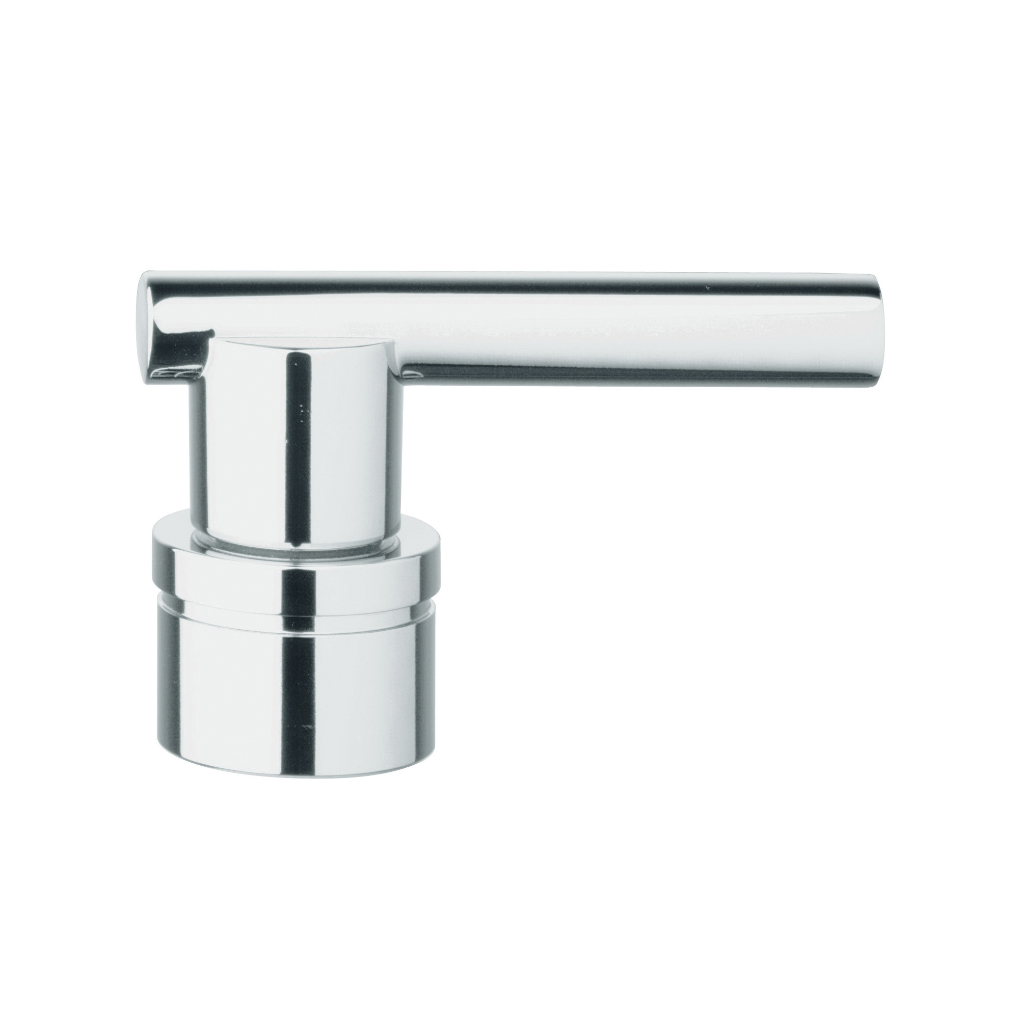 GROHE 45609000 Jota Atrio® Lever Handle With Handle Mounting, For Use With Bathroom Sink, Brass, StarLight® Chrome, Import