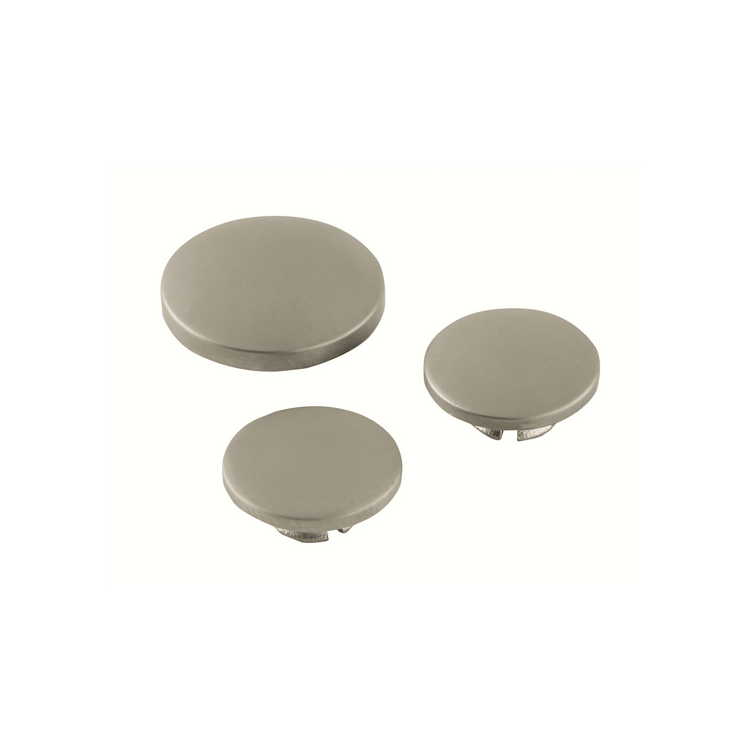 GROHE 45952EN0 Seabury Cap, For Use With Diverter Tub Spout and Bathroom Sink, Brass, Brushed Nickel, Import