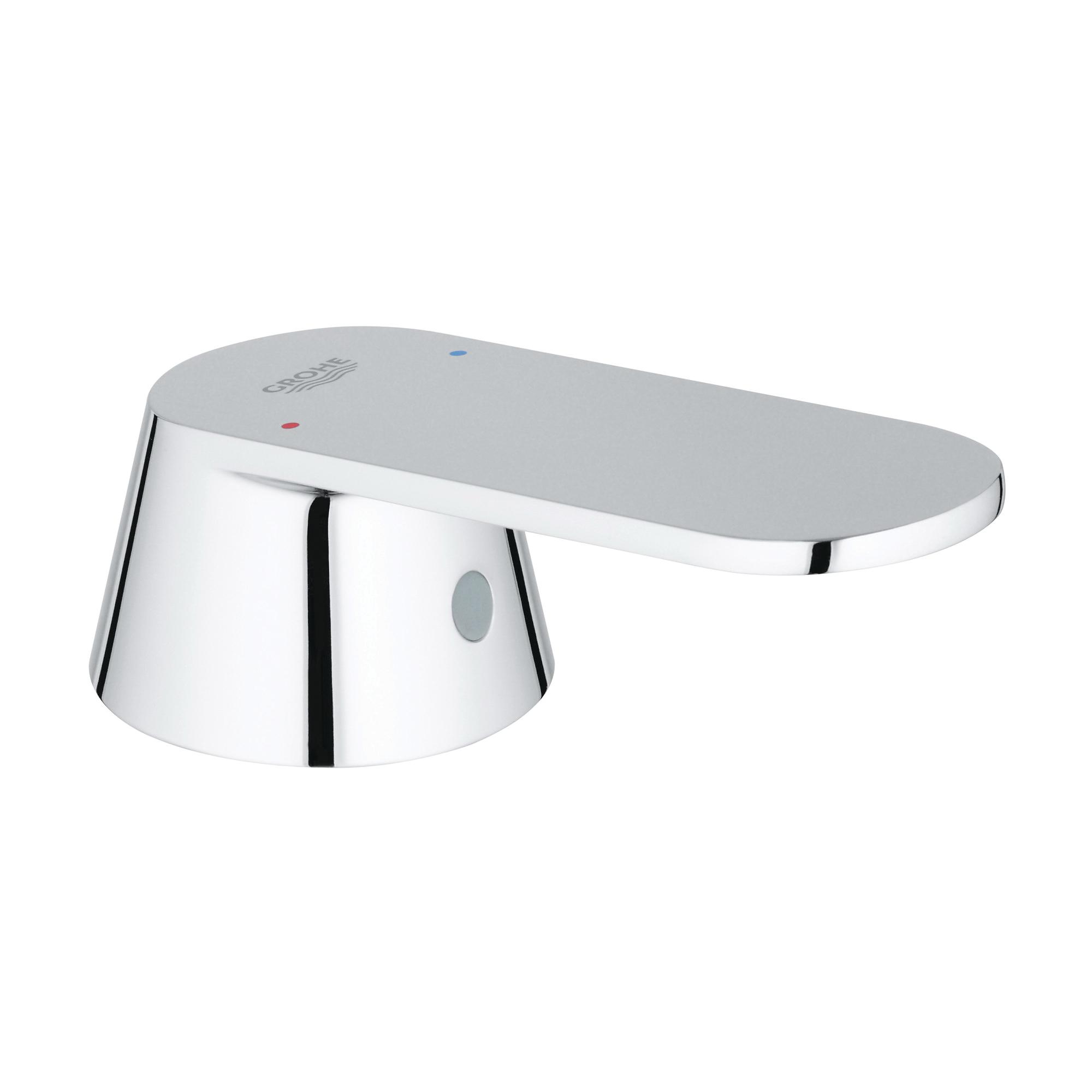 GROHE 46682000 Cosmopolitan Lever Handle, StarLight® Chrome, Import