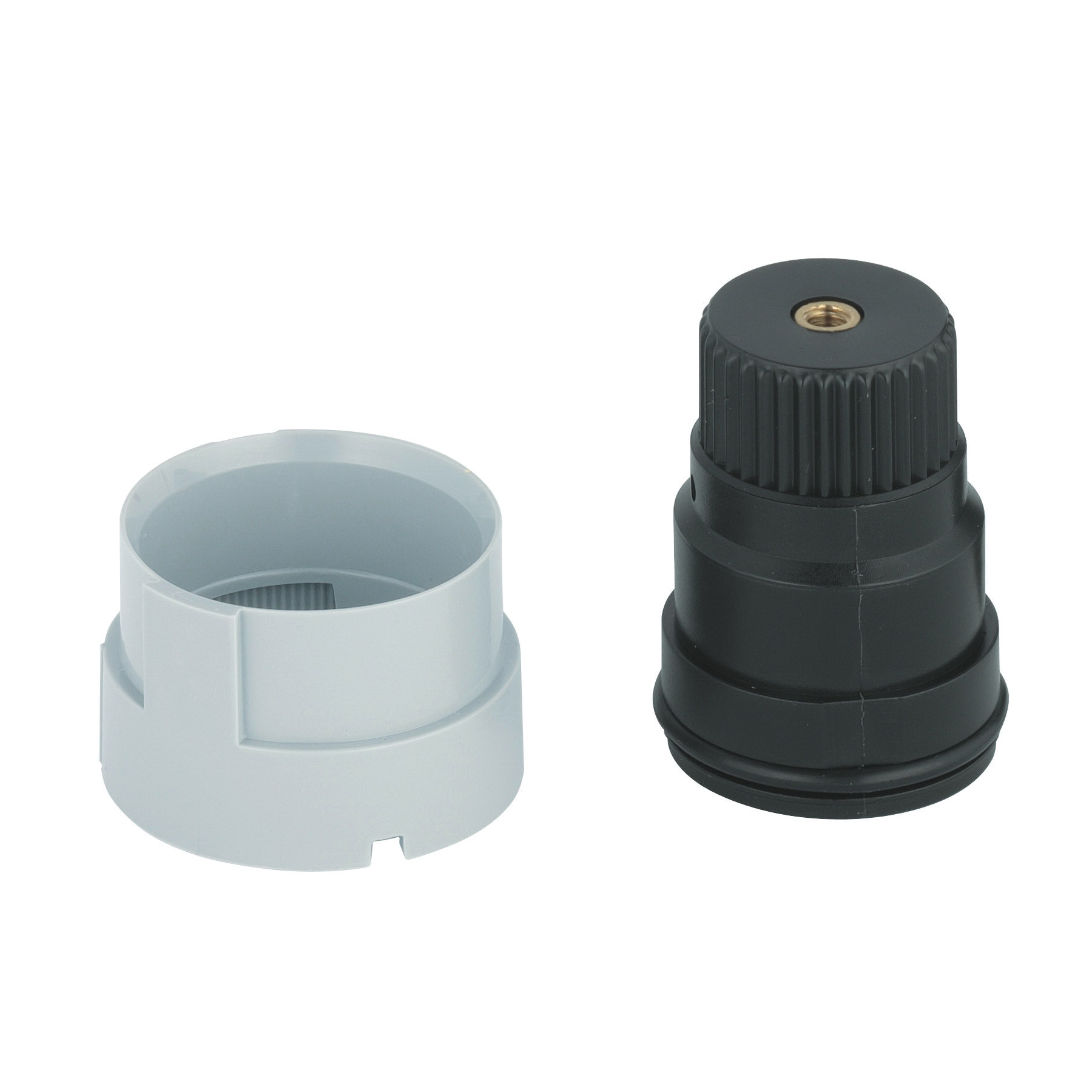 GROHE 47167000 Stop Ring and Regulating Nut, For Use With Grohtherm Thermostat, Import