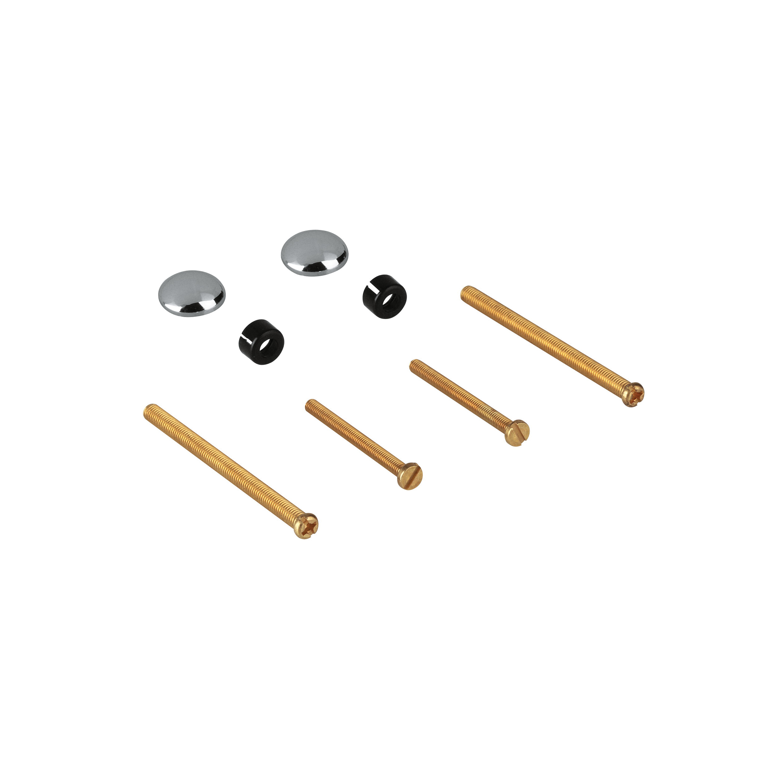 GROHE 47336000 Fixing Set, StarLight® Chrome Plated